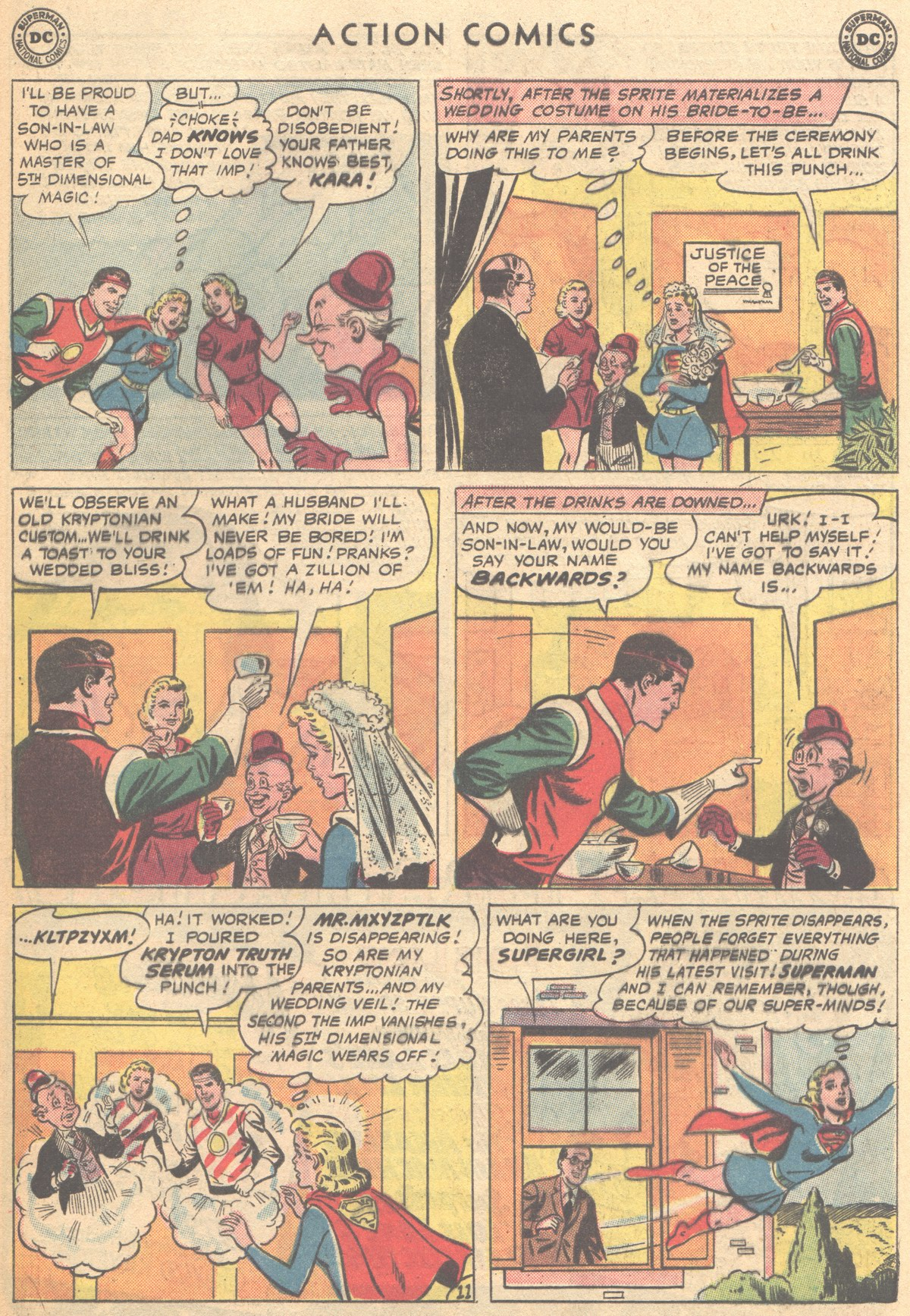 Read online Action Comics (1938) comic -  Issue #291 - 29
