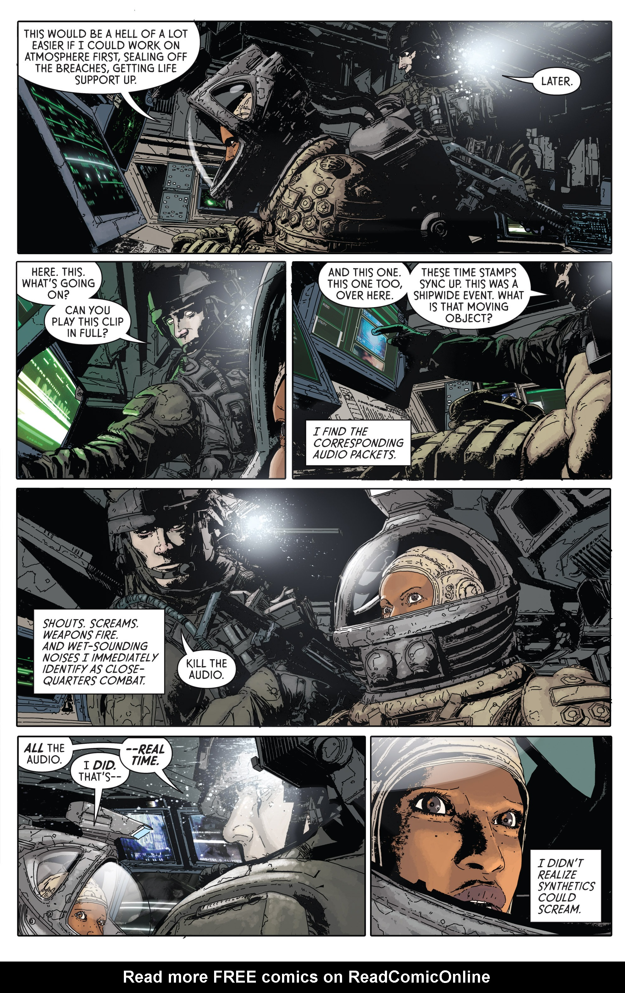 Read online Aliens: Defiance comic -  Issue #1 - 15