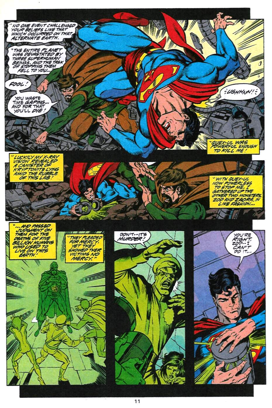 Read online Adventures of Superman (1987) comic -  Issue #494 - 12