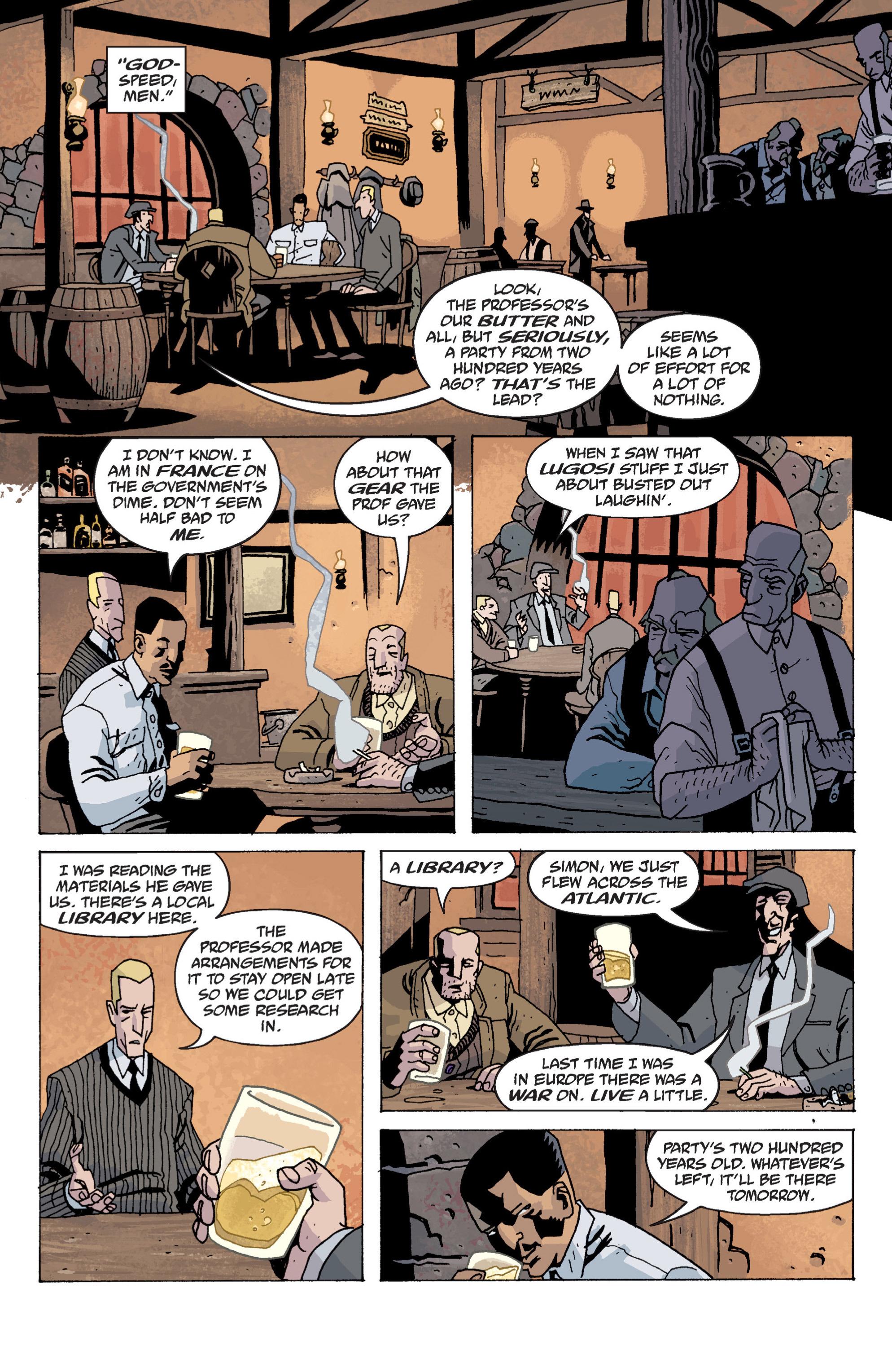 Read online B.P.R.D. (2003) comic -  Issue # TPB 13 - 19