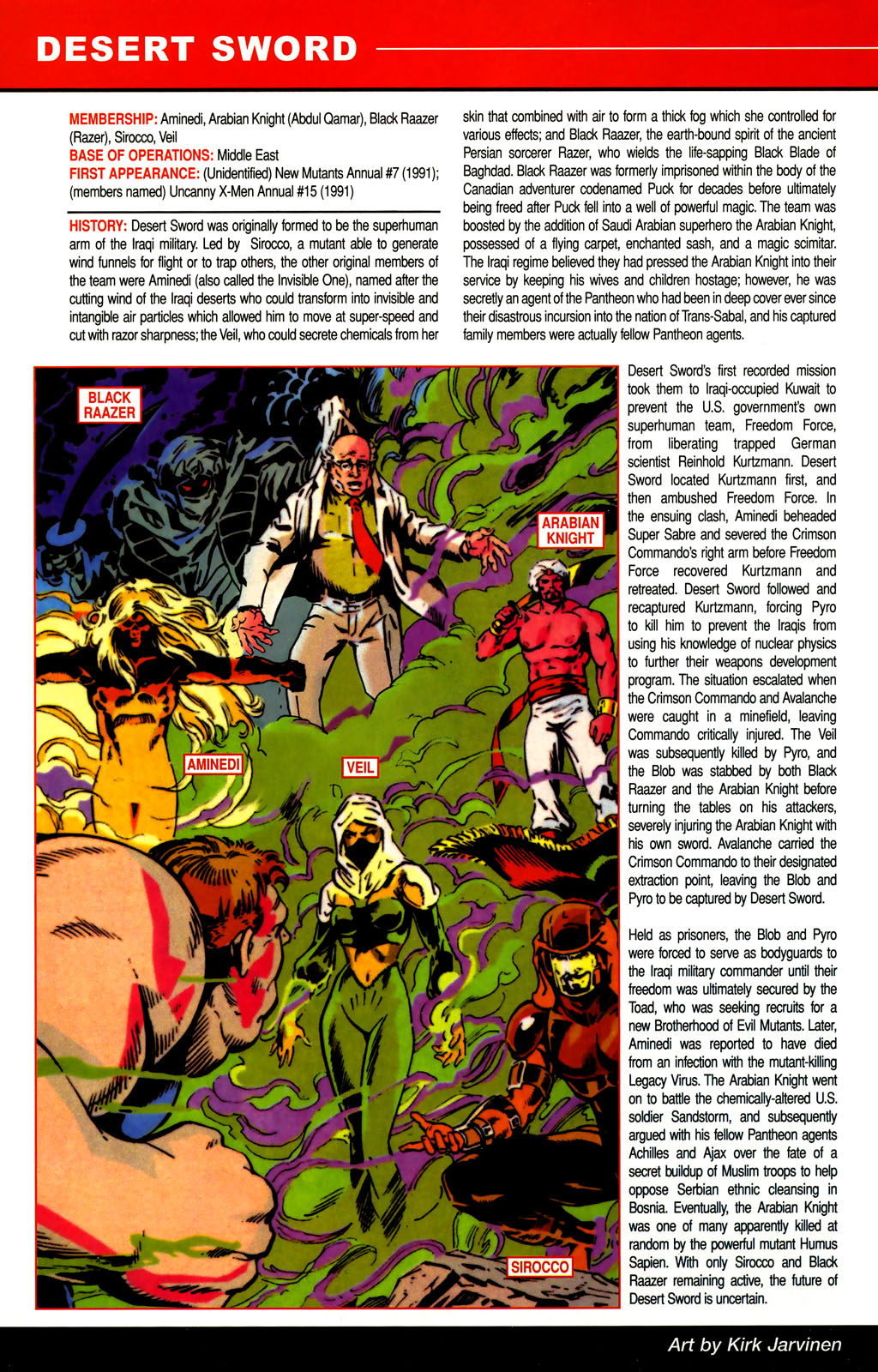 Read online All-New Official Handbook of the Marvel Universe A to Z comic -  Issue #3 - 42