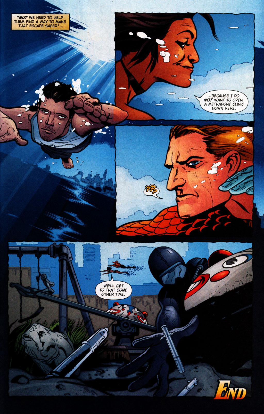 Read online Aquaman (2003) comic -  Issue #25 - 23