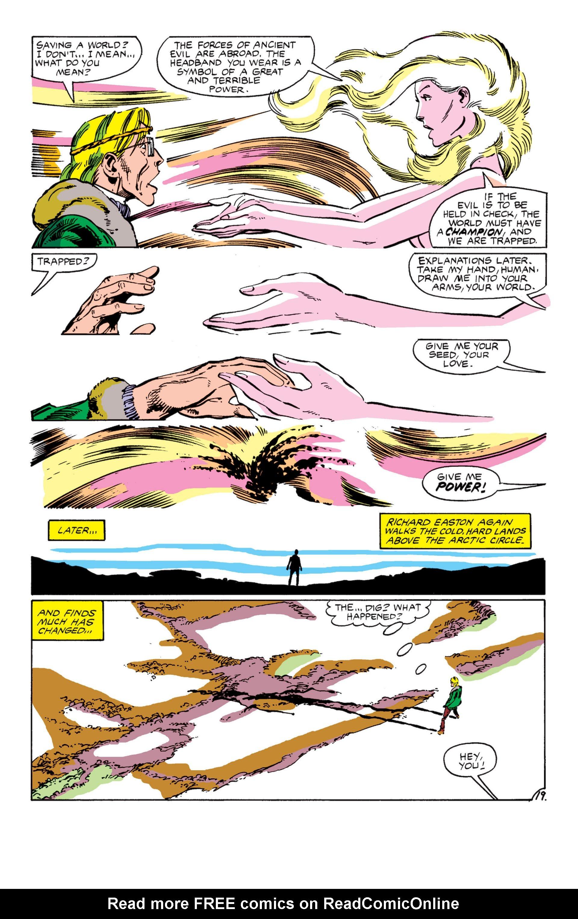 Read online Alpha Flight (1983) comic -  Issue #7 - 20