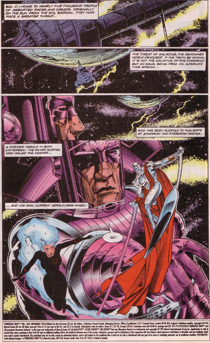 Read online Cyberspace 3000 comic -  Issue #5 - 2