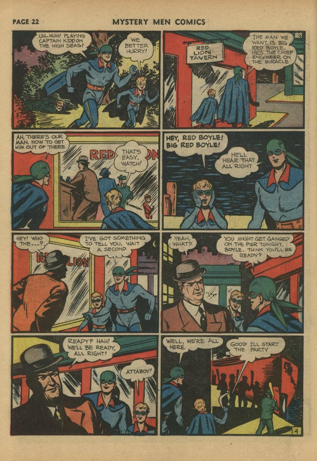 Mystery Men Comics issue 17 - Page 24