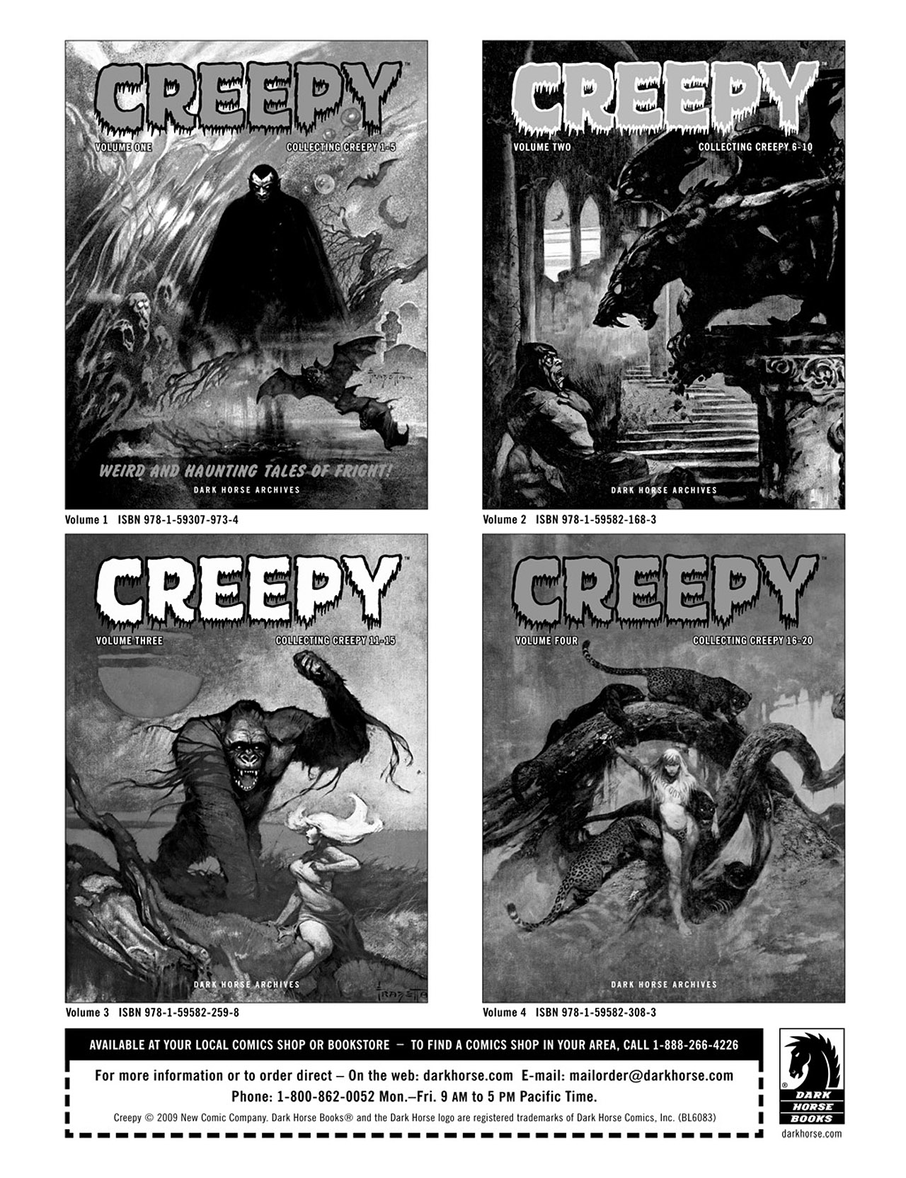 Read online Eerie Archives comic -  Issue # TPB 2 - 287