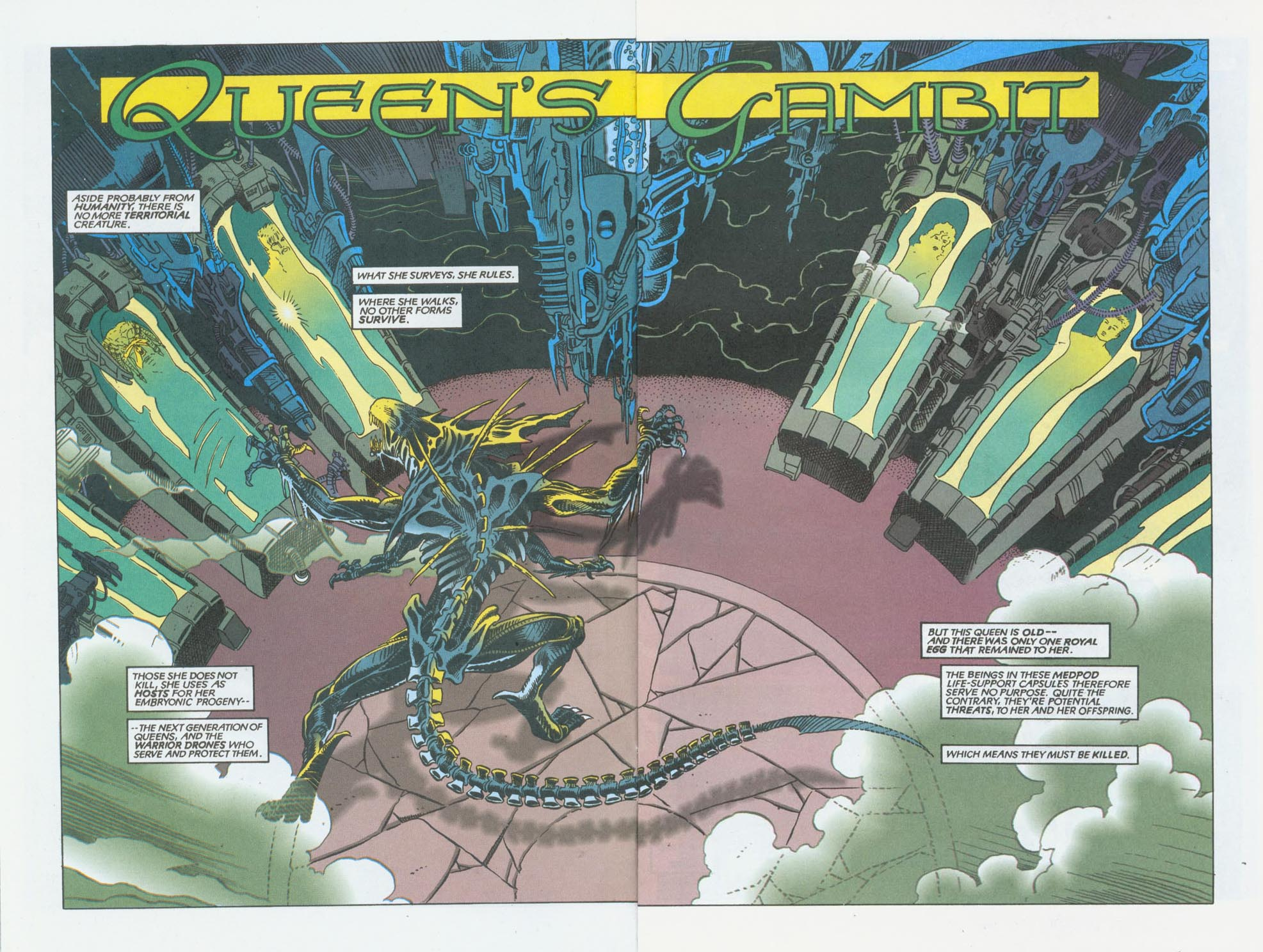 Read online Aliens/Predator: The Deadliest of the Species comic -  Issue #10 - 4