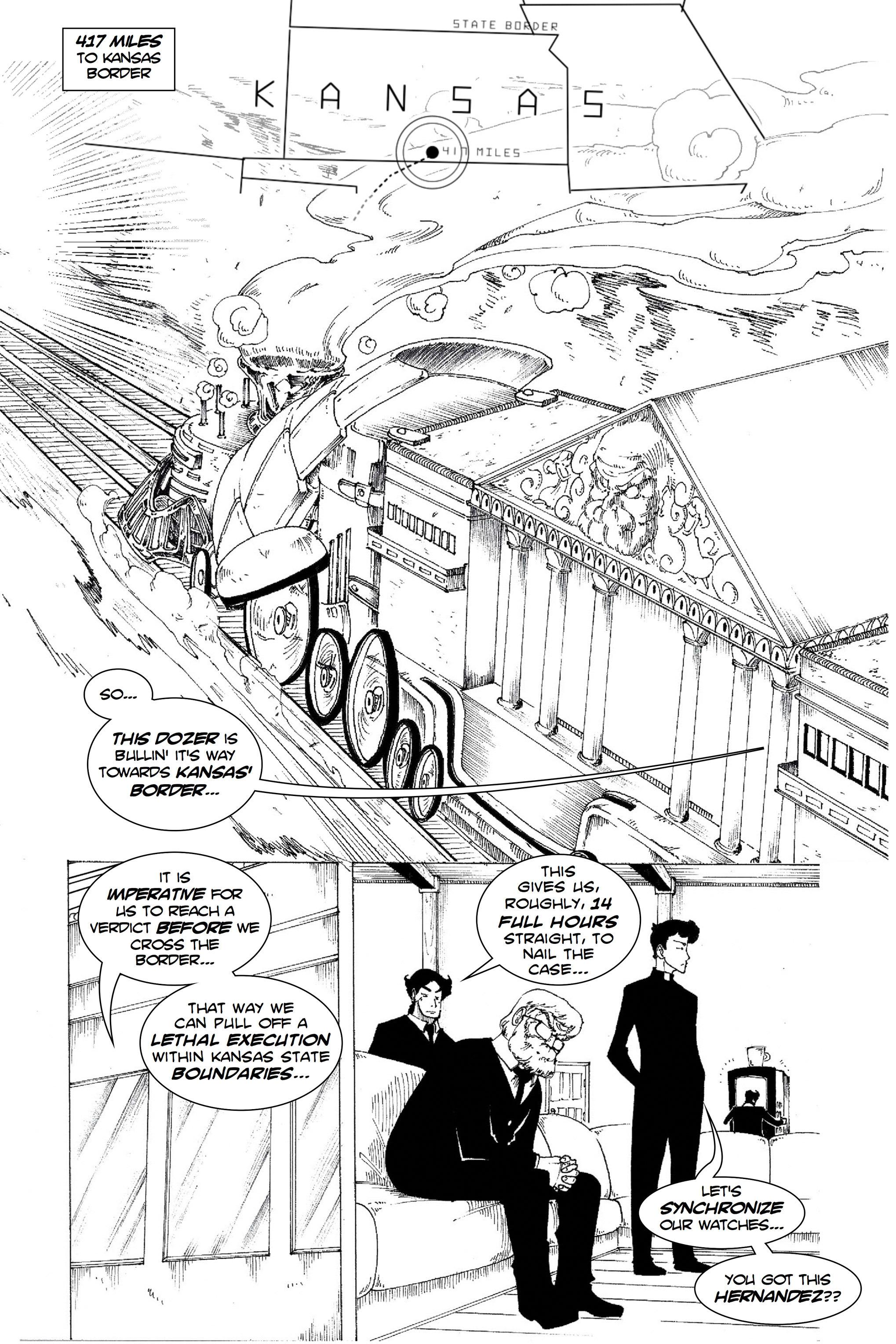 Read online Silvertongue 30xx Vol. 1 comic -  Issue # Full - 32