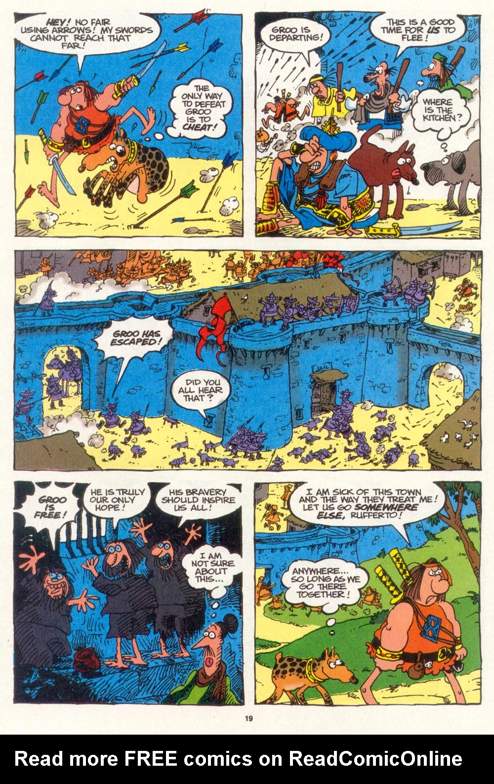 Read online Sergio Aragonés Groo the Wanderer comic -  Issue #107 - 21