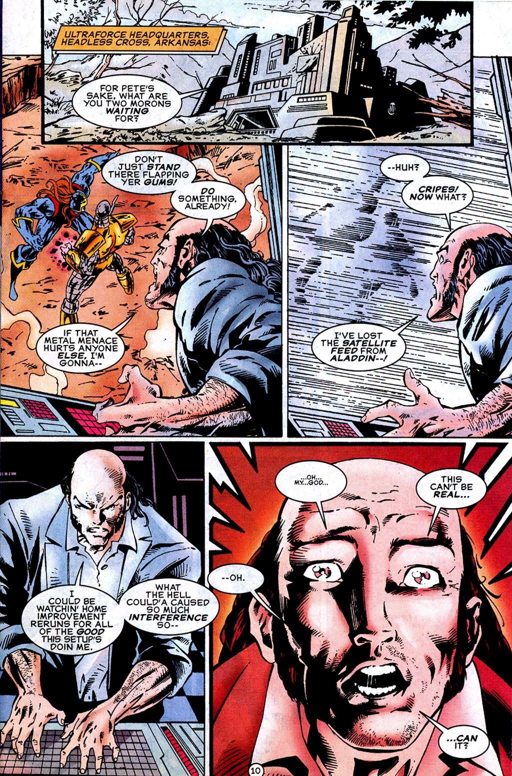 Read online UltraForce (1995) comic -  Issue #12 - 12