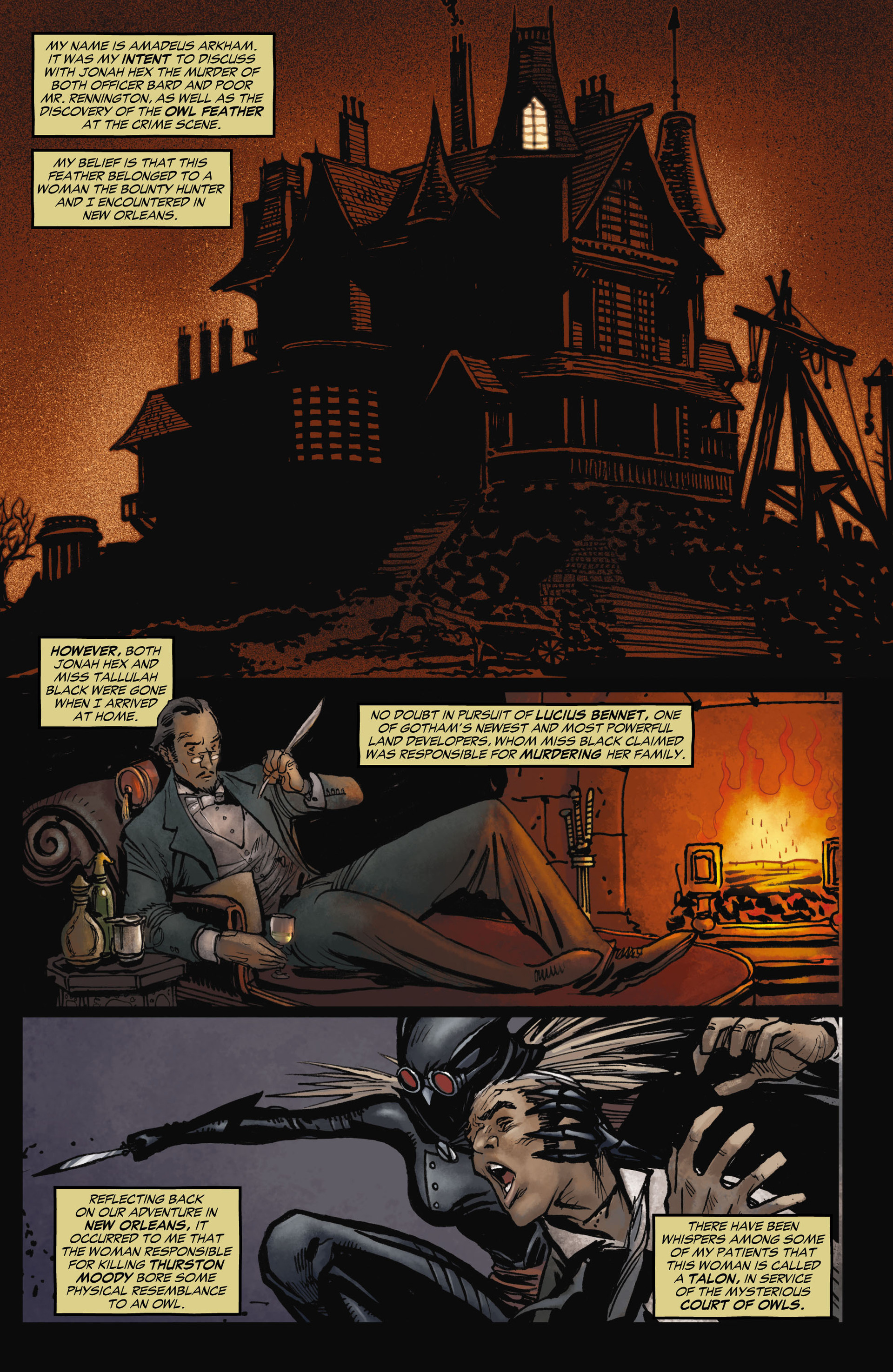 Read online All-Star Western (2011) comic -  Issue #11 - 2