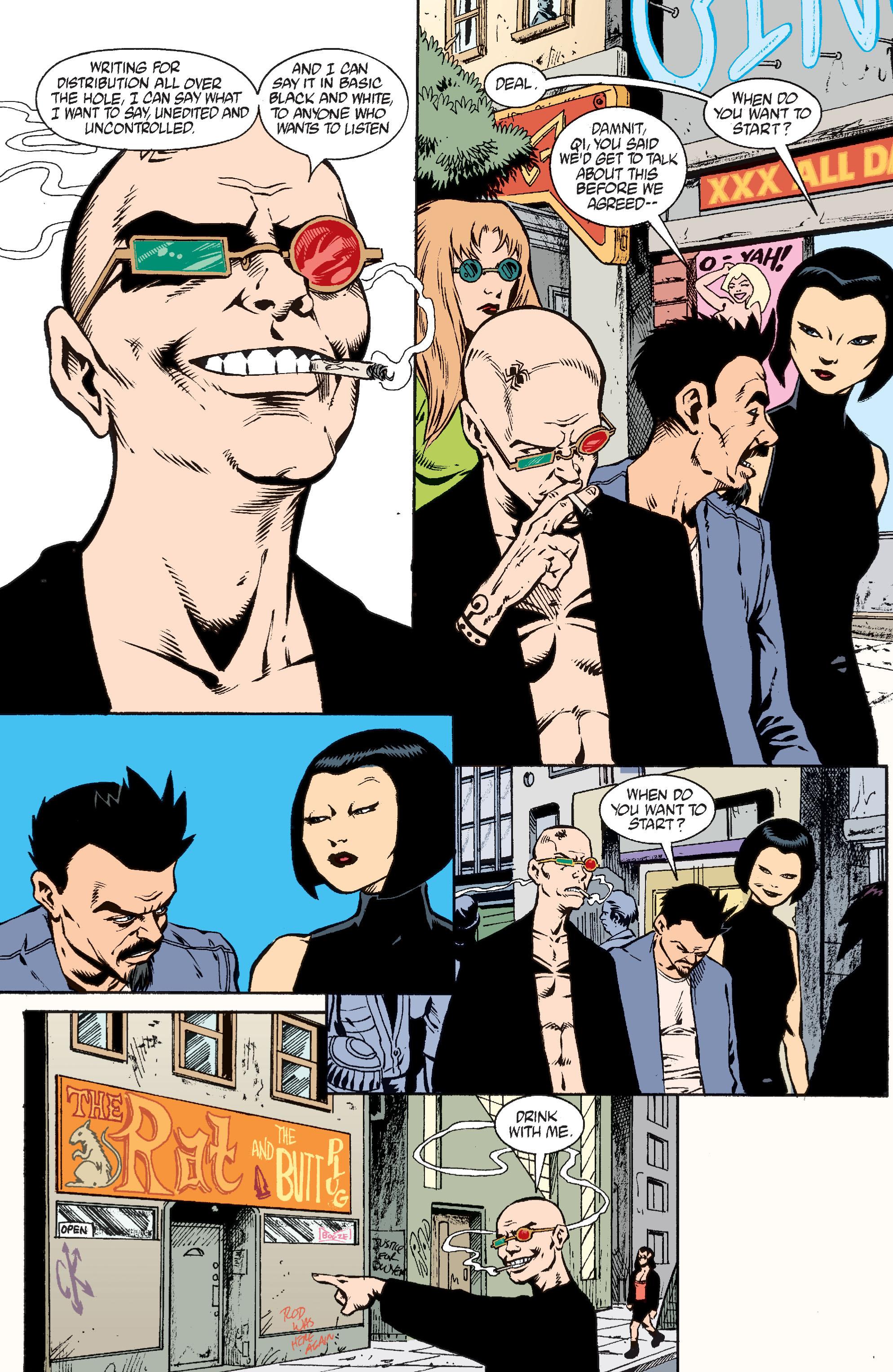 Read online Transmetropolitan comic -  Issue #37 - 18