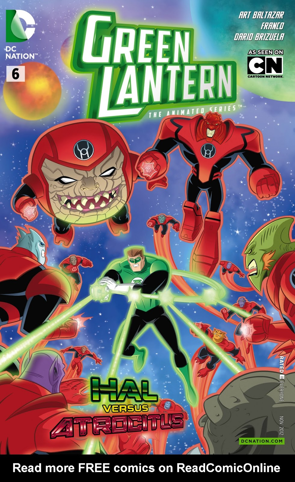 Green Lantern: The Animated Series 6 Page 1