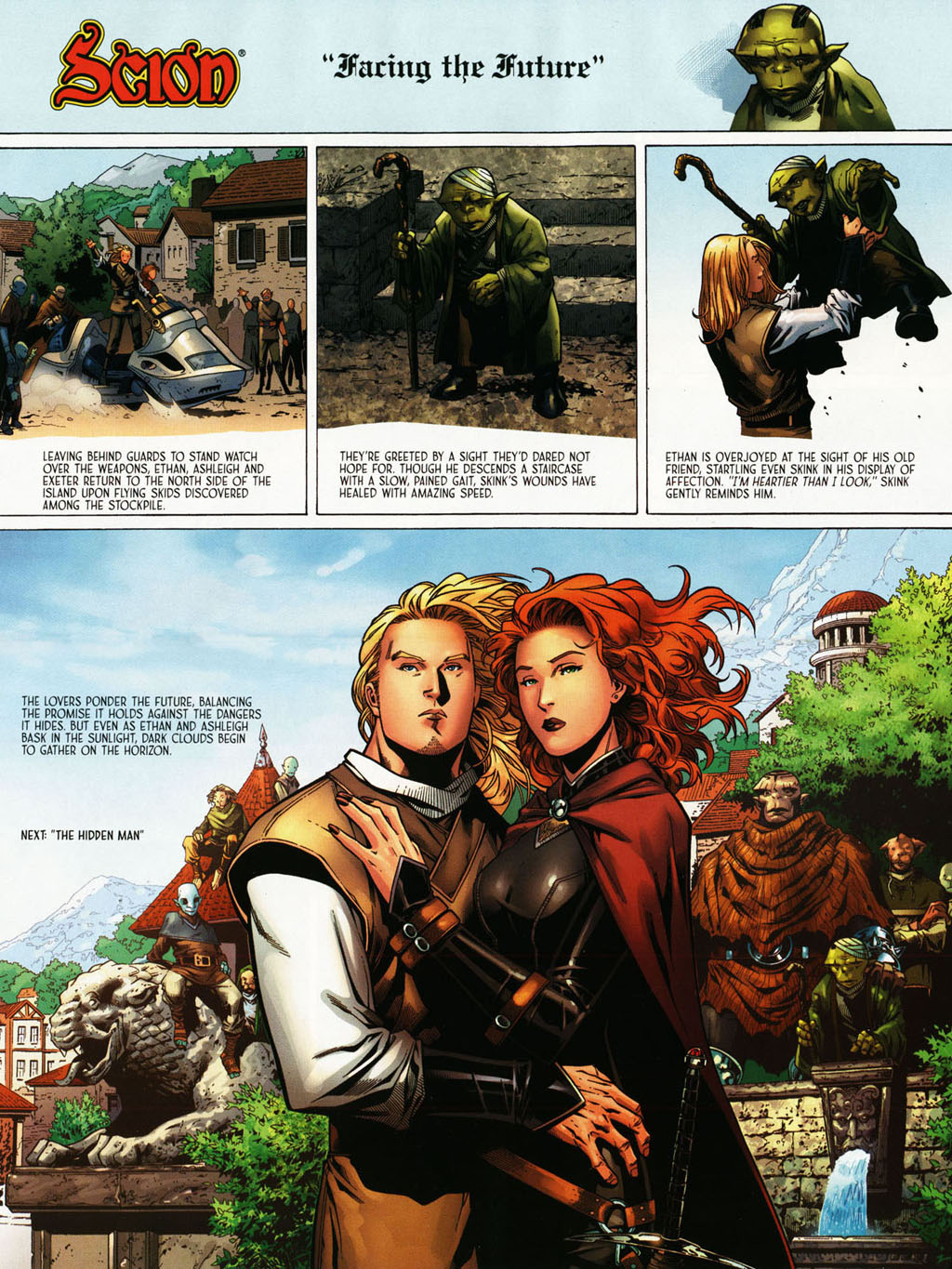 Read online Scion comic -  Issue #39 - 12