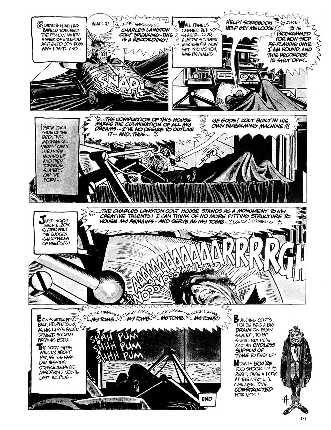 Read online Eerie Archives comic -  Issue # TPB 1 - 132