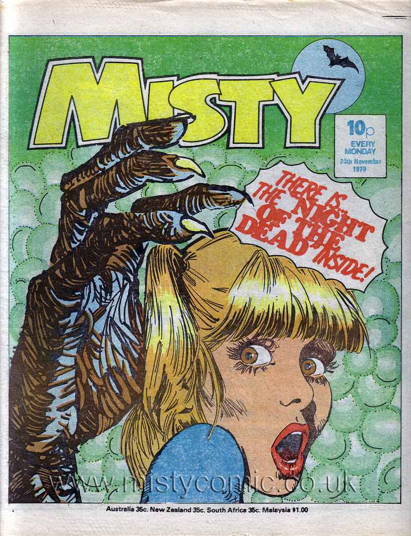 Read online Misty comic -  Issue #94 - 1