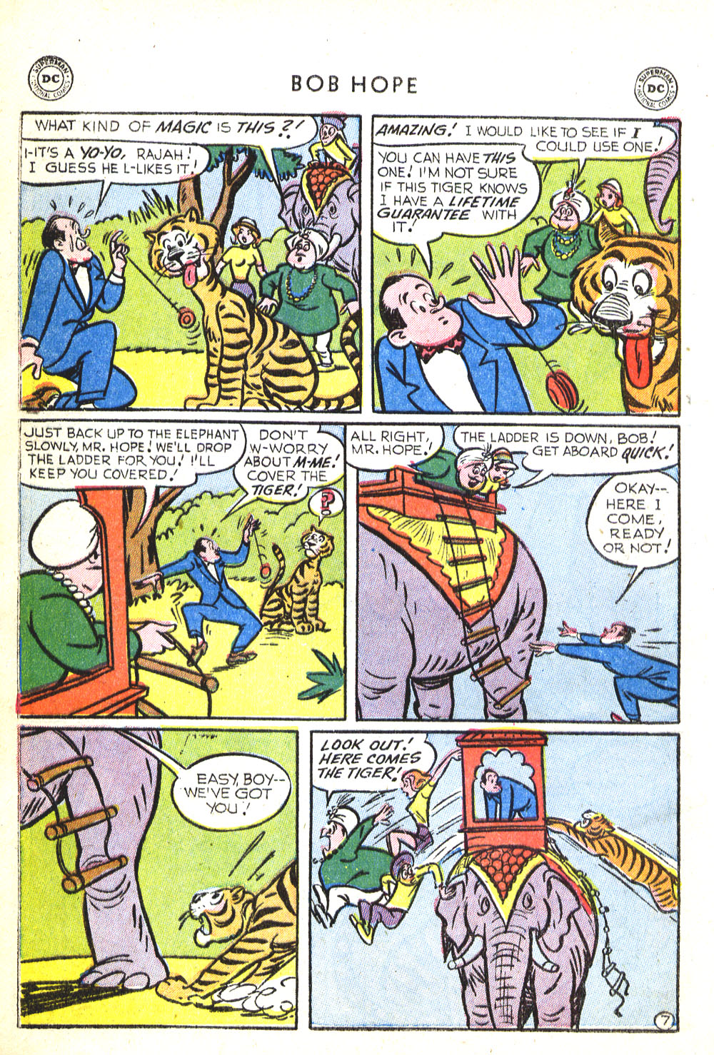 The Adventures of Bob Hope issue 30 - Page 20