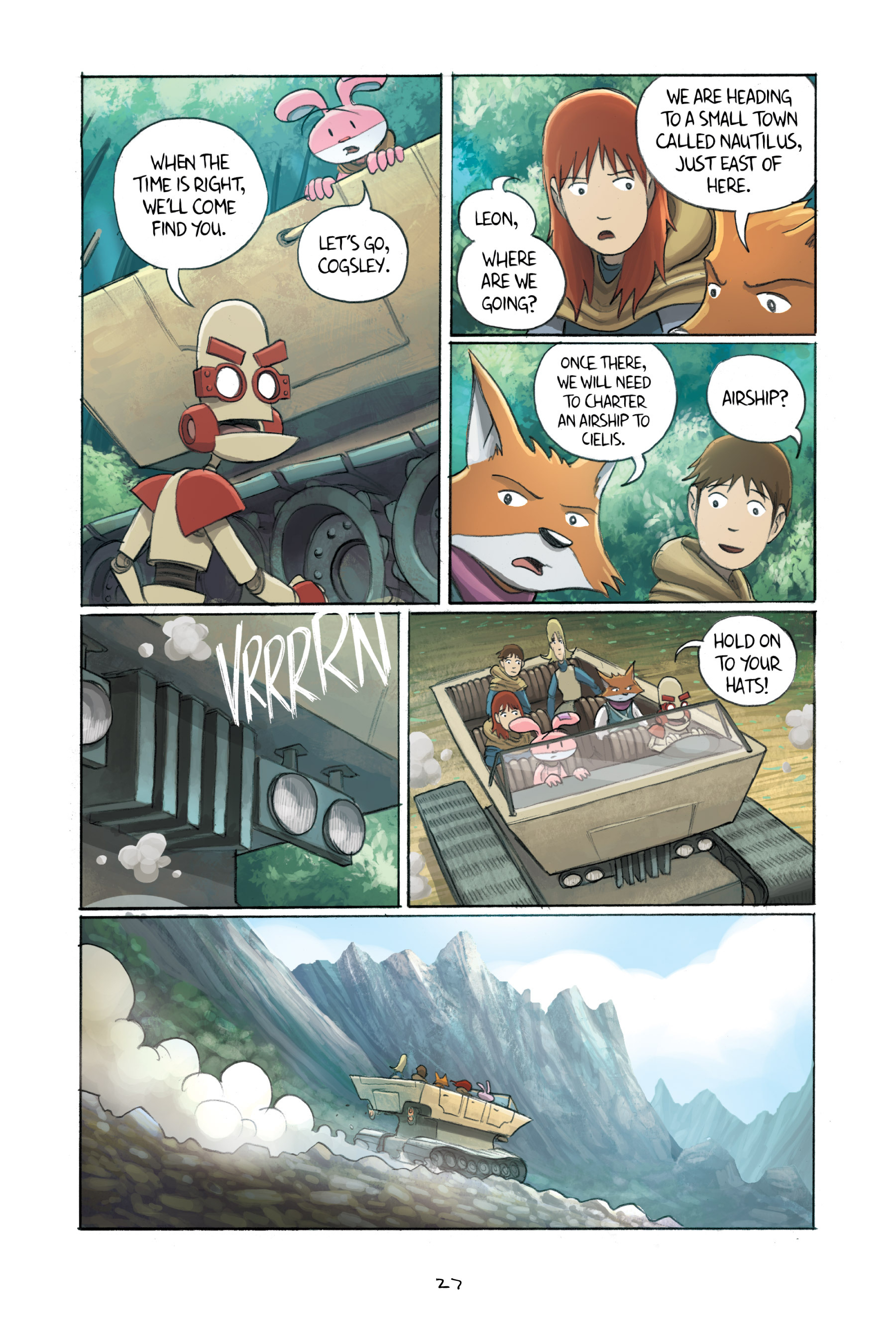 Read online Amulet comic -  Issue #3 - 27