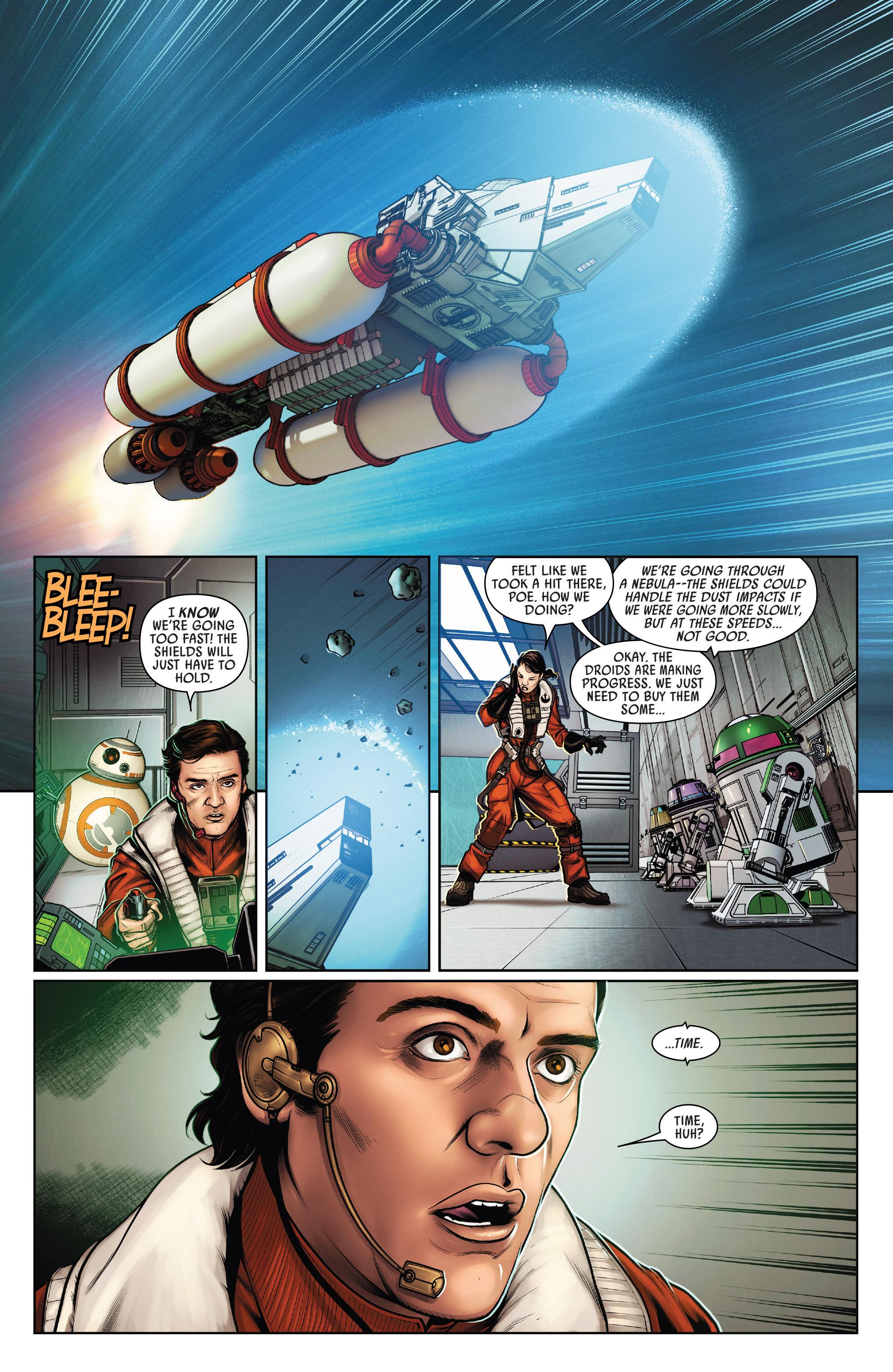Read online Star Wars: Poe Dameron comic -  Issue #15 - 17
