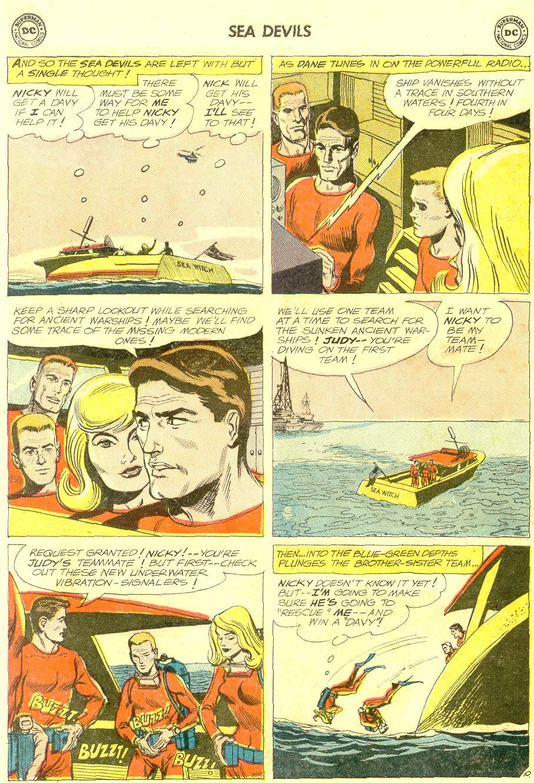 Read online Sea Devils comic -  Issue #12 - 14