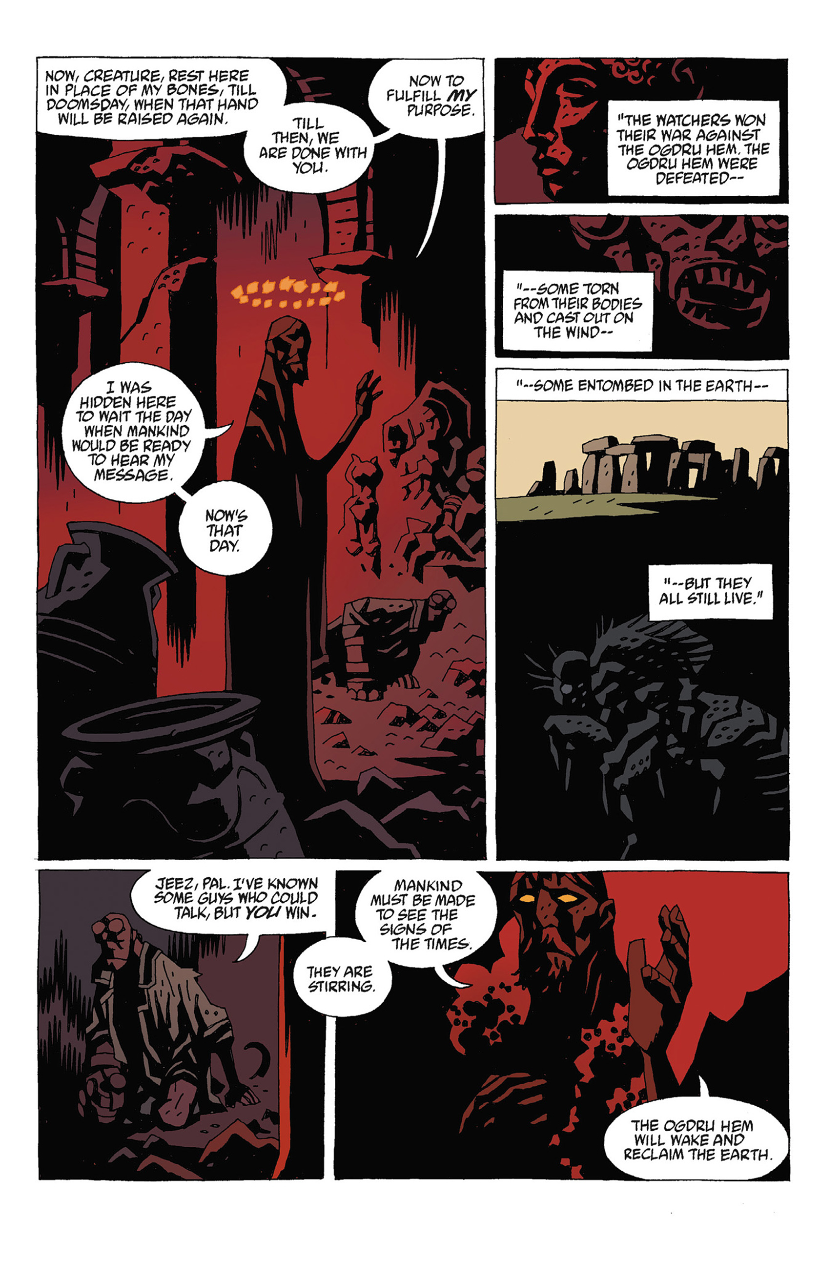Read online Hellboy: Strange Places comic -  Issue # TPB - 112
