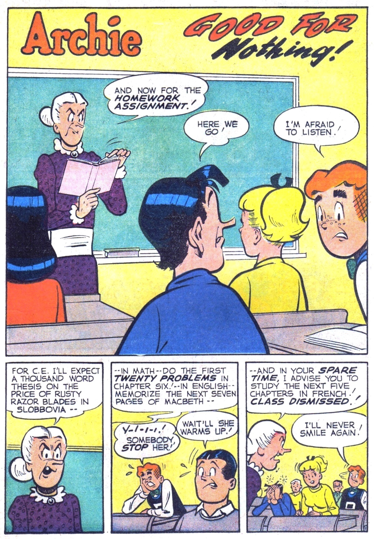 Read online Archie (1960) comic -  Issue #116 - 13