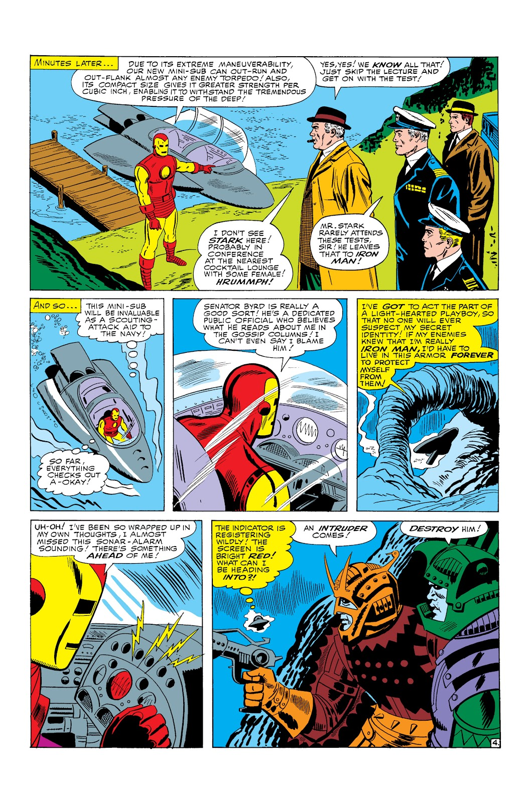 Read online Marvel Masterworks: The Invincible Iron Man comic -  Issue # TPB 3 (Part 1) - 7