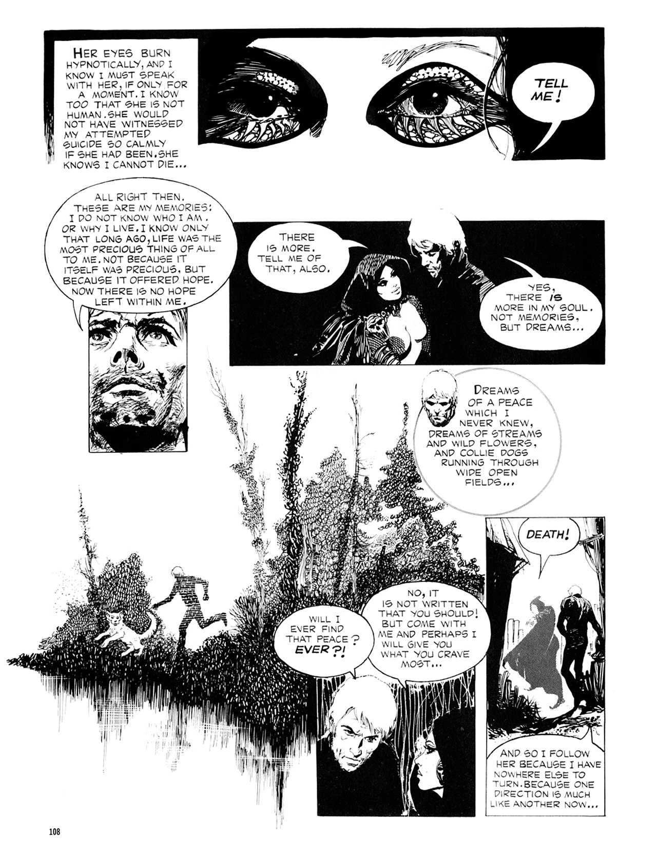 Read online Eerie Archives comic -  Issue # TPB 8 - 109