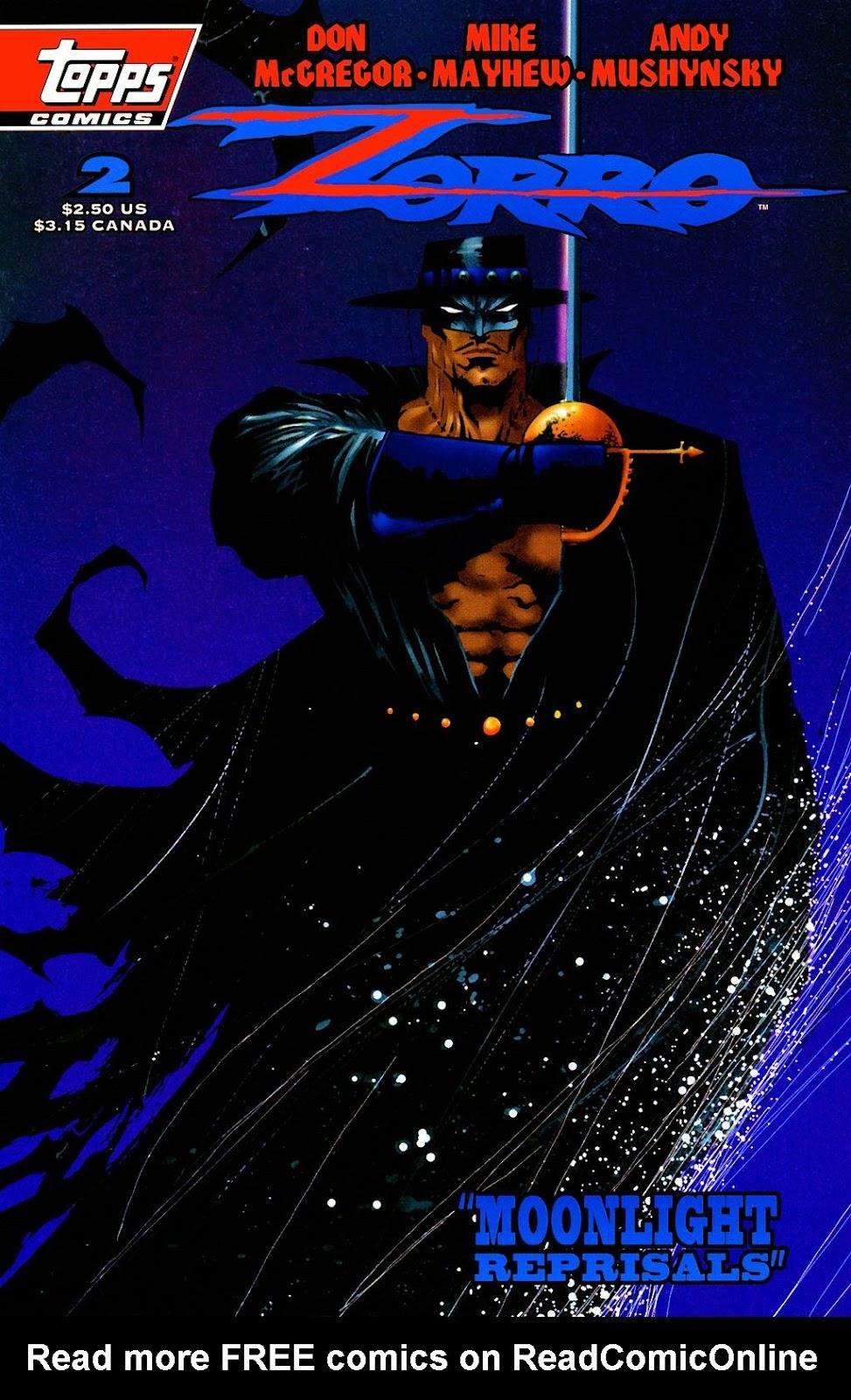 Zorro (1993) 2 Page 1