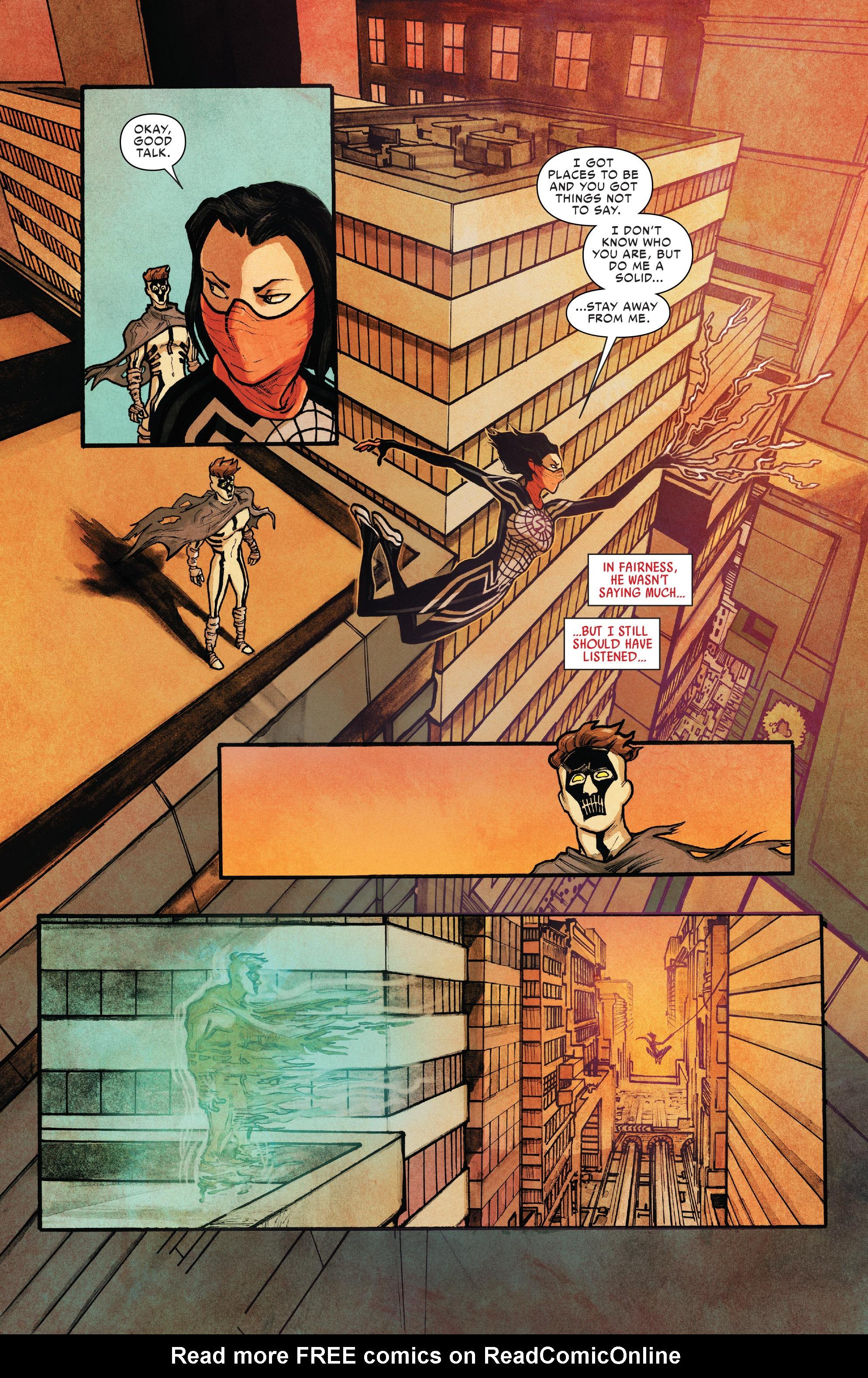 Read online Silk (2016) comic -  Issue #10 - 8