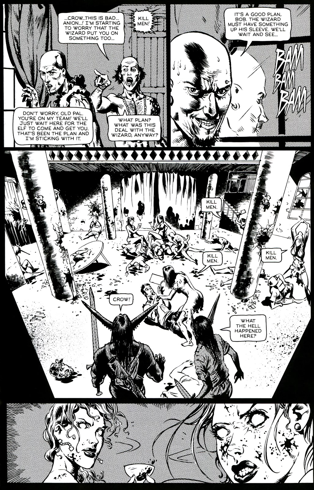 Read online Poison Elves (2013) comic -  Issue #3 - 7