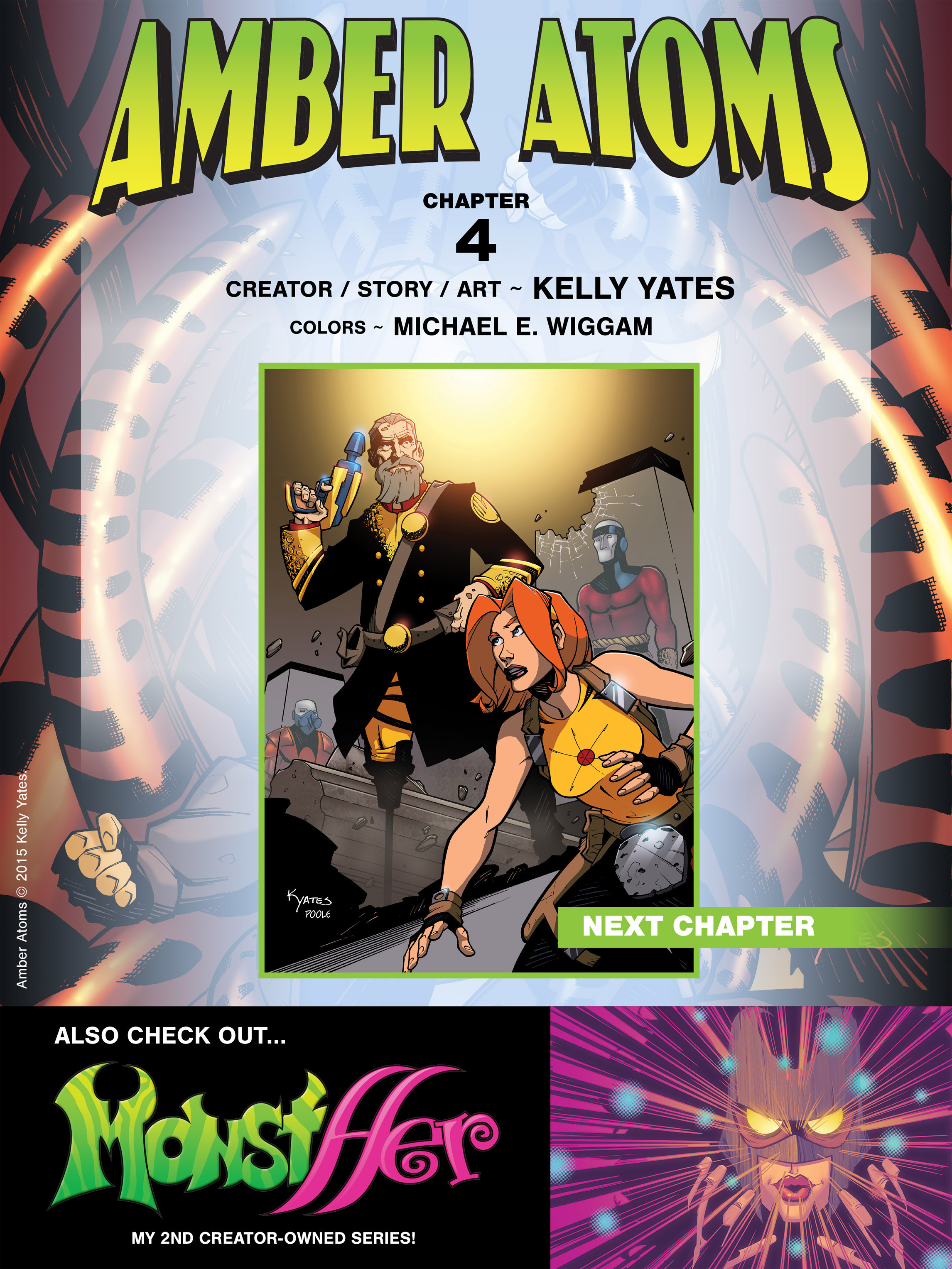 Read online Amber Atoms comic -  Issue #4 - 24