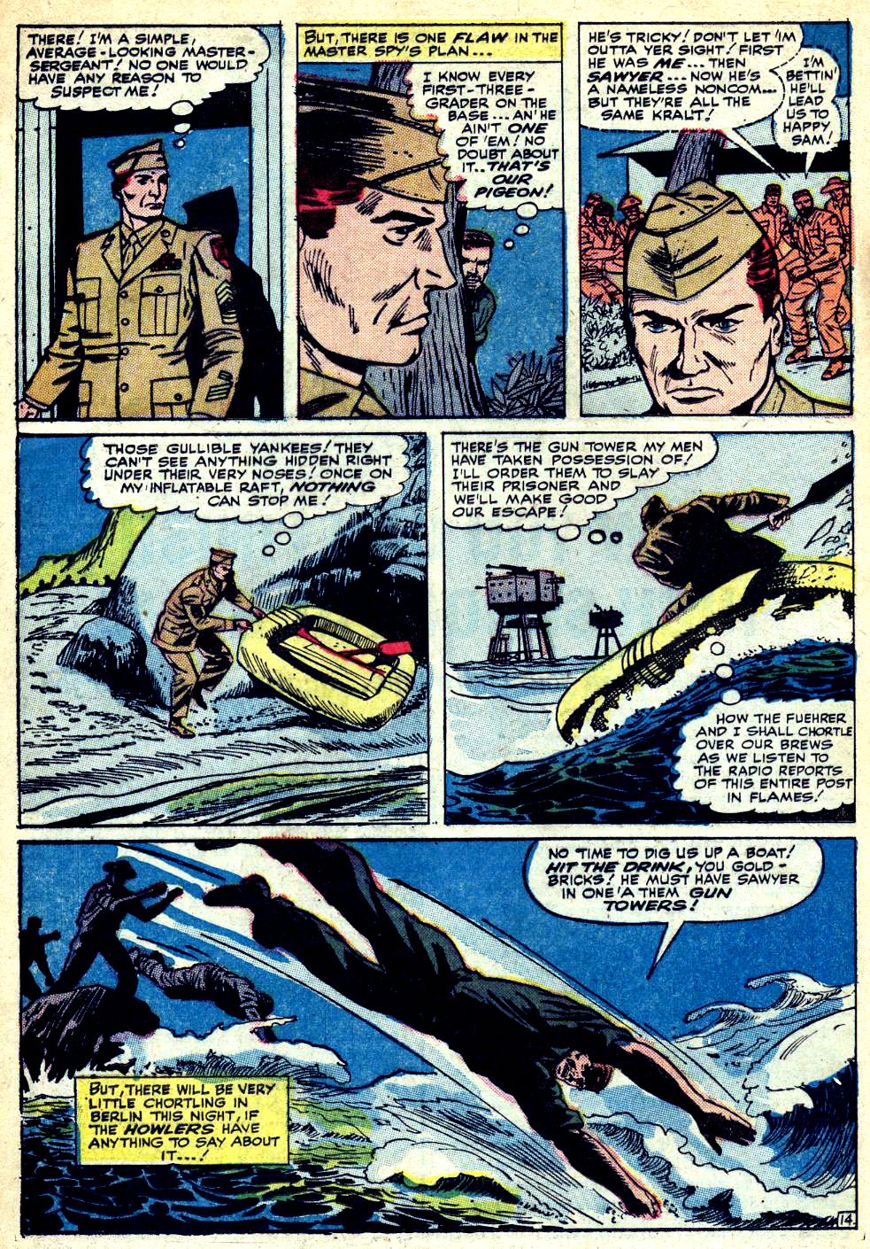 Read online Sgt. Fury comic -  Issue #25 - 20