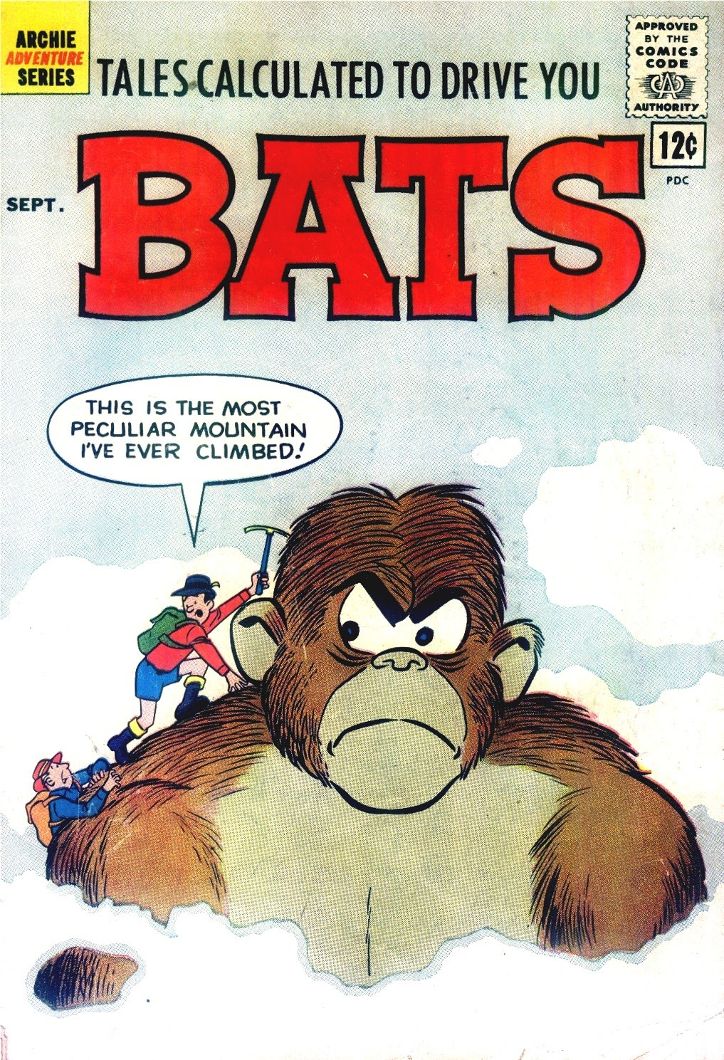Read online Tales Calculated to Drive You Bats comic -  Issue #6 - 1
