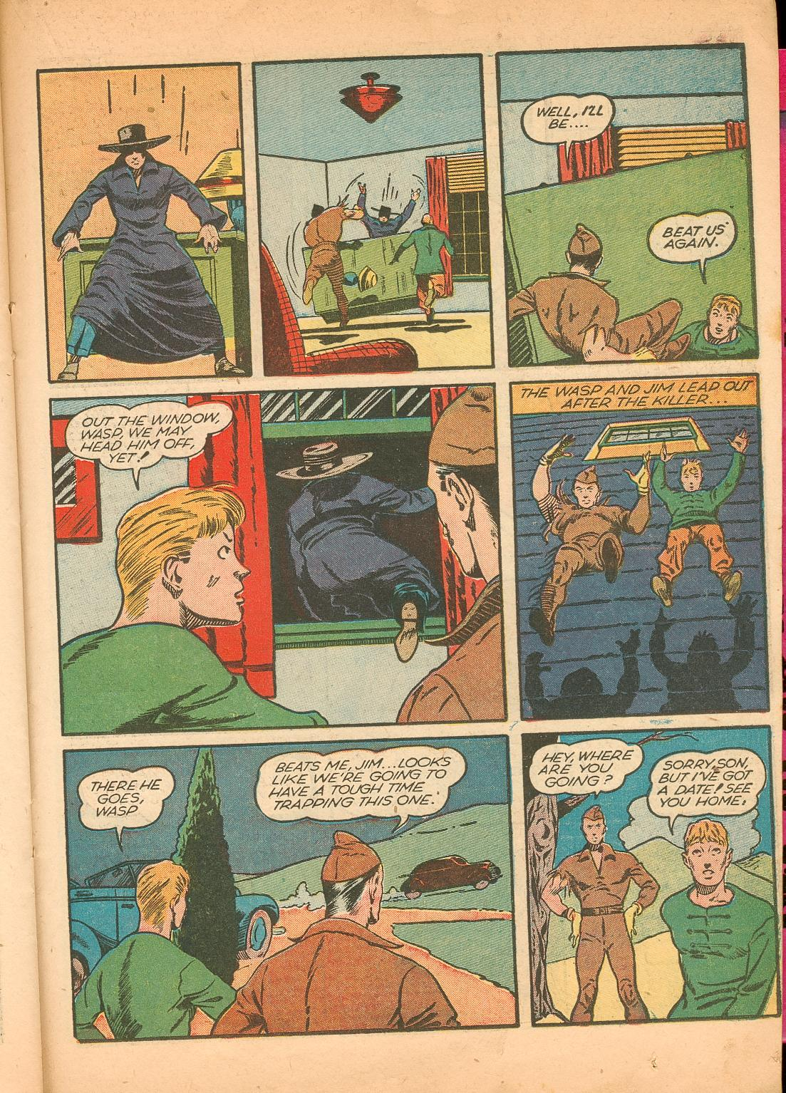 Read online Shadow Comics comic -  Issue #11 - 43