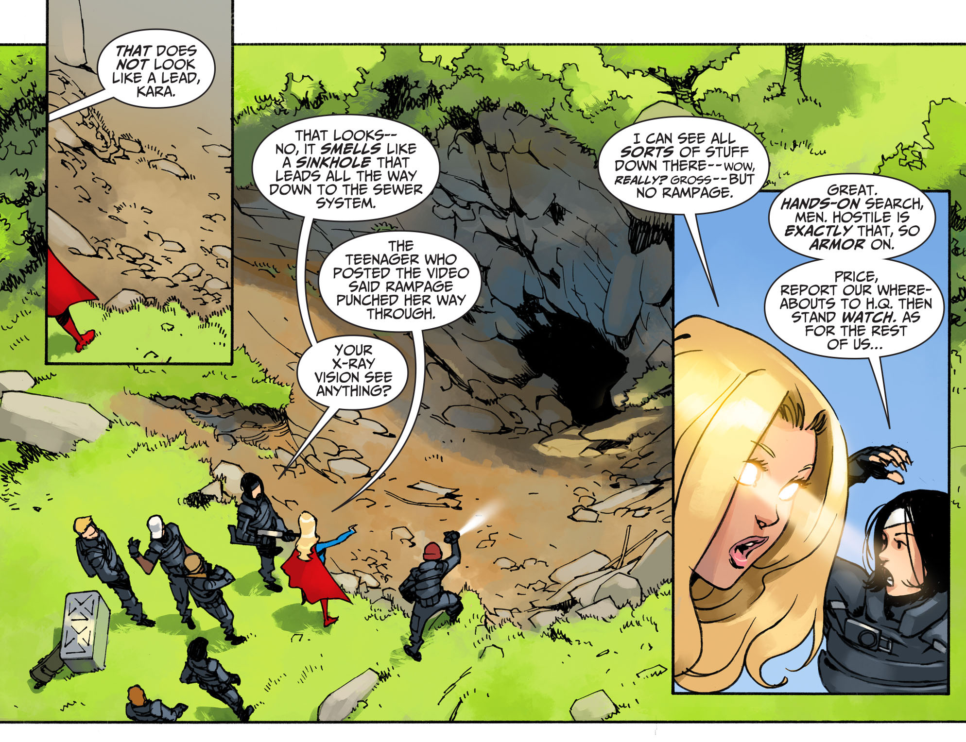 Read online Adventures of Supergirl comic -  Issue #2 - 11
