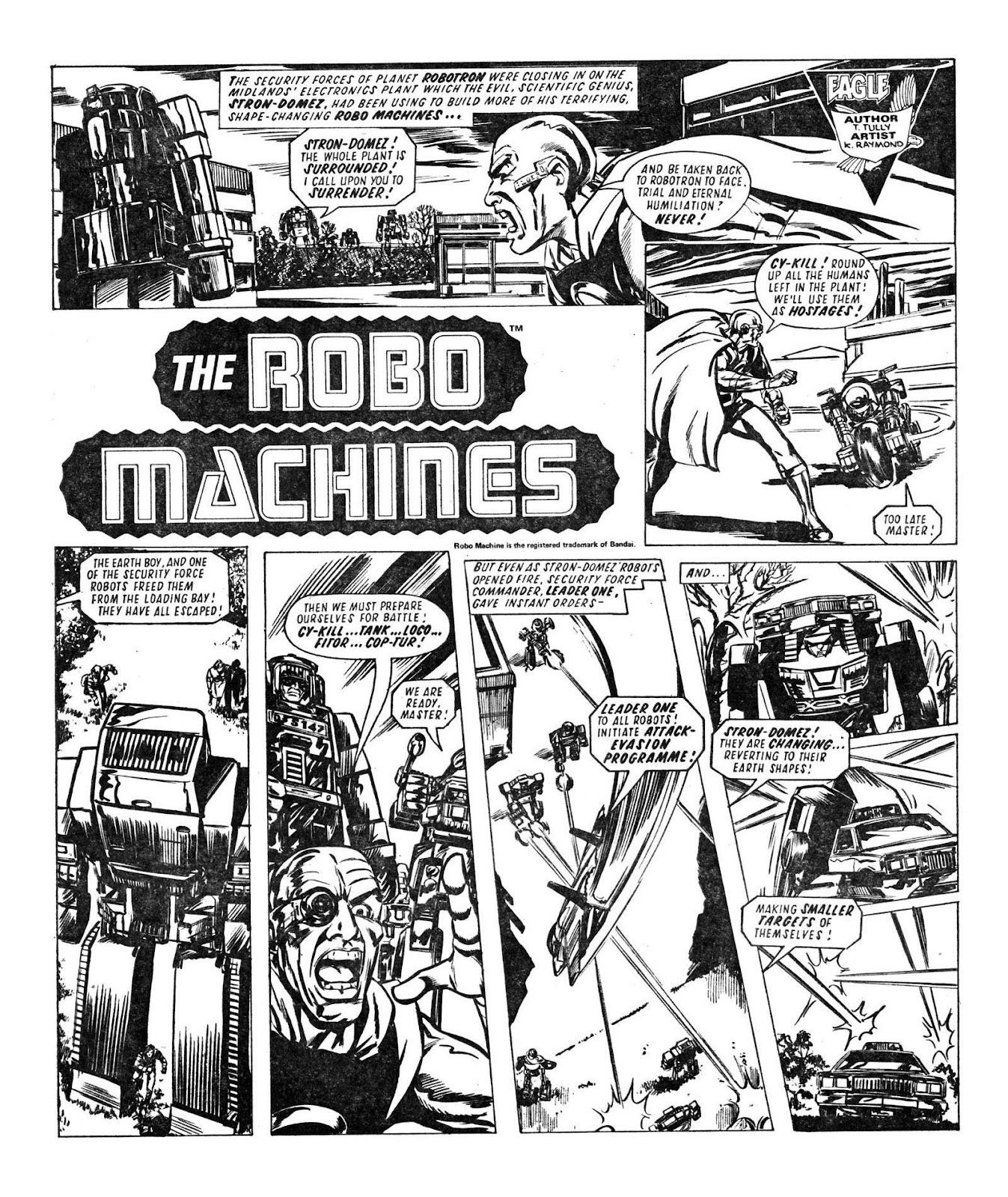 Read online Robo Machines comic -  Issue # TPB - 63