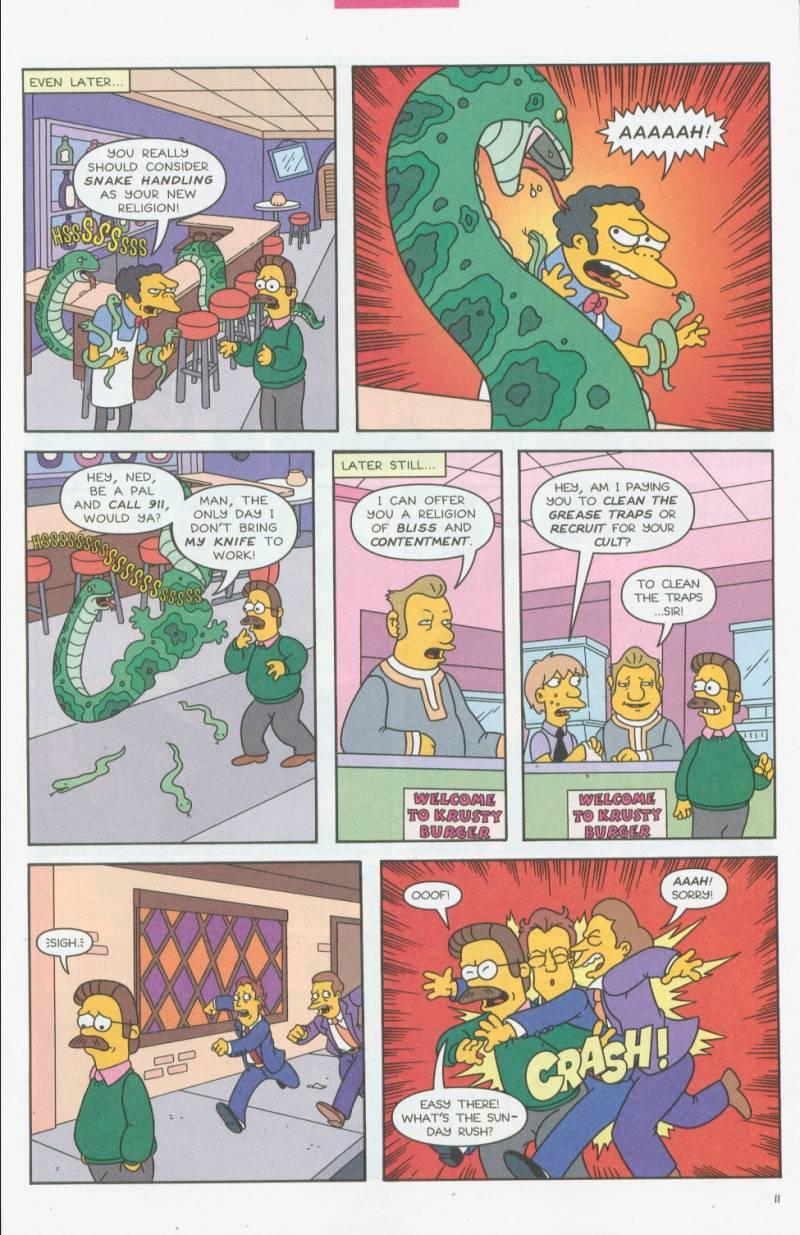 Read online Simpsons Comics comic -  Issue #69 - 10