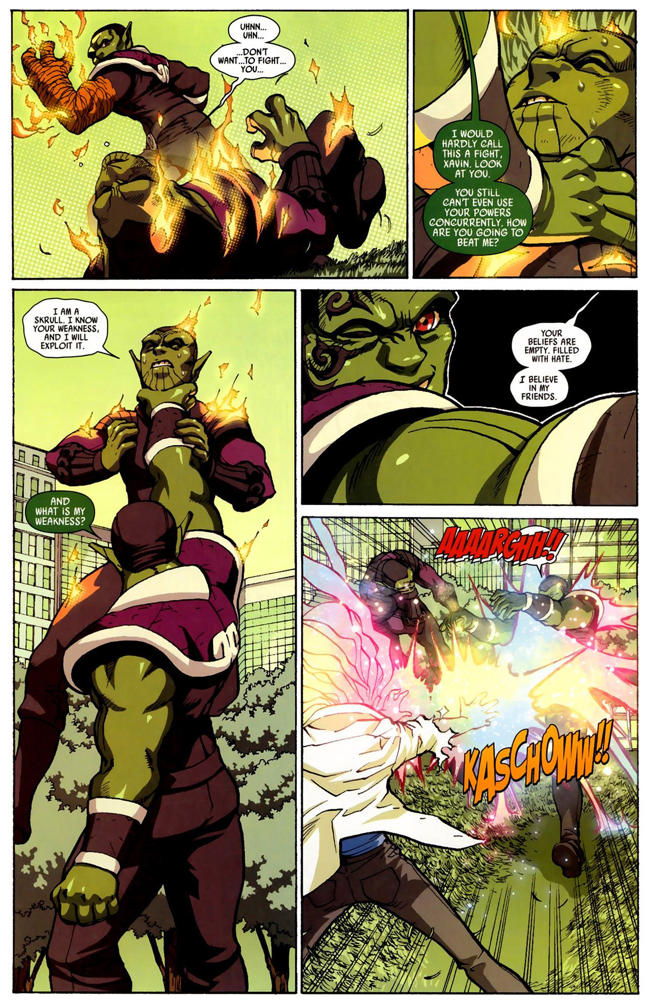 Read online Secret Invasion: Runaways/Young Avengers comic -  Issue #3 - 17