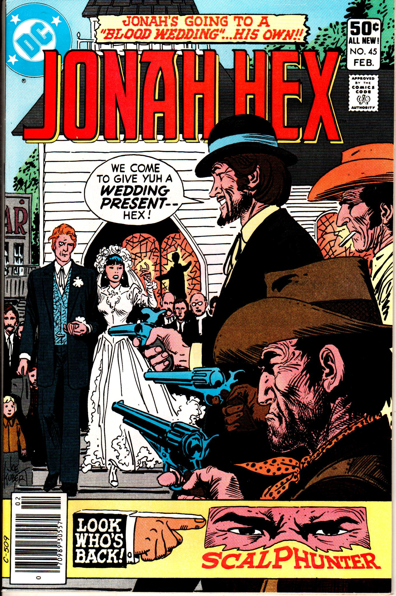 Jonah Hex (1977) 45 Page 1