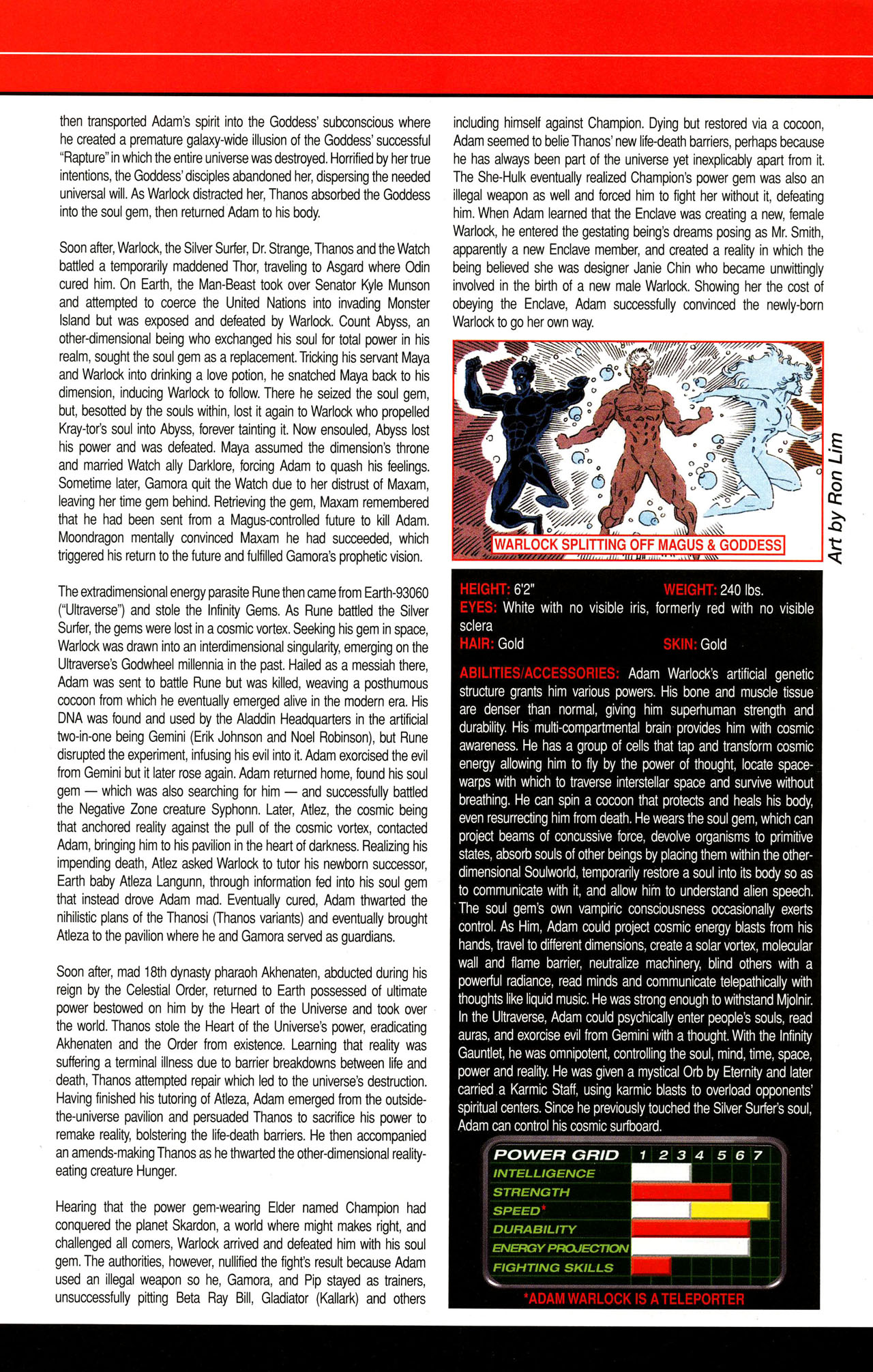 Read online All-New Official Handbook of the Marvel Universe A to Z comic -  Issue #12 - 30