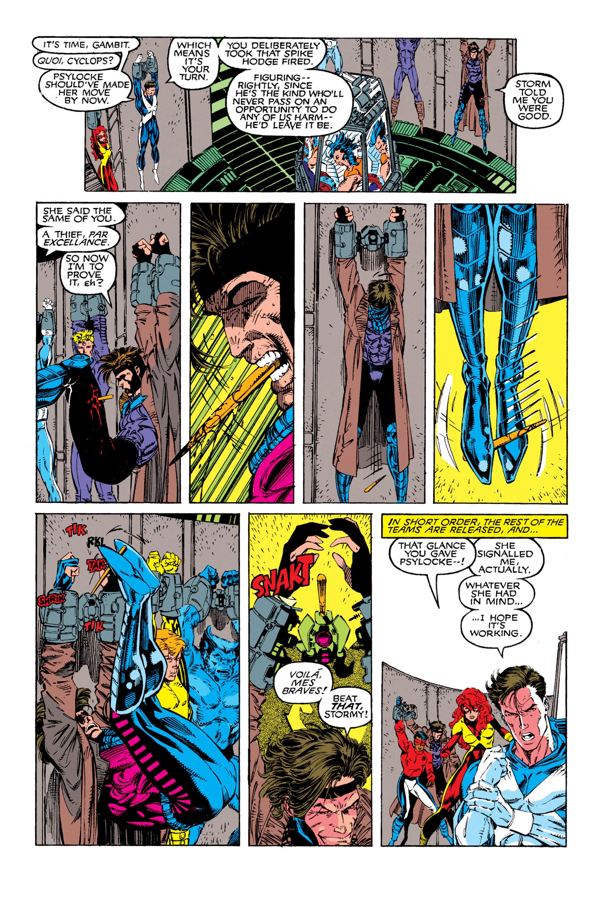 Read online Uncanny X-Men (1963) comic -  Issue #272 - 17