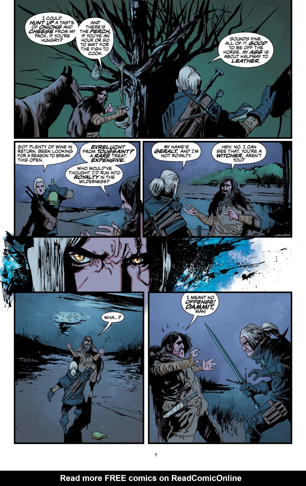 Read online The Witcher Omnibus comic -  Issue # TPB (Part 1) - 10
