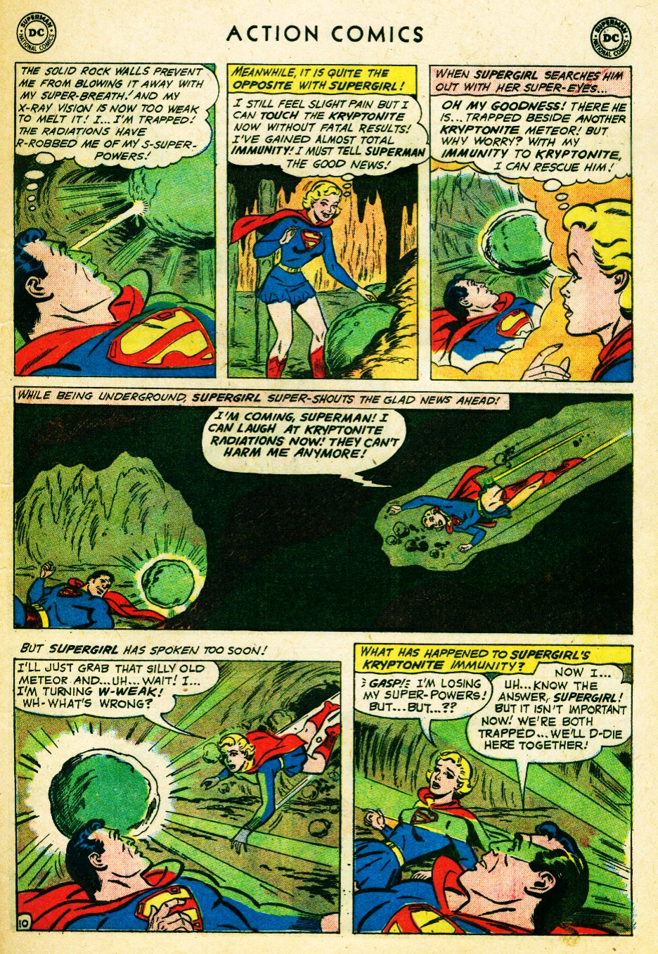 Read online Action Comics (1938) comic -  Issue #262 - 29