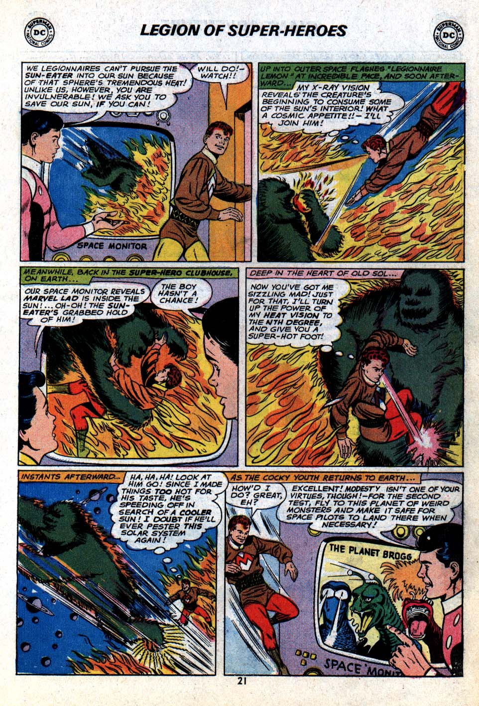 Read online Adventure Comics (1938) comic -  Issue #403 - 23
