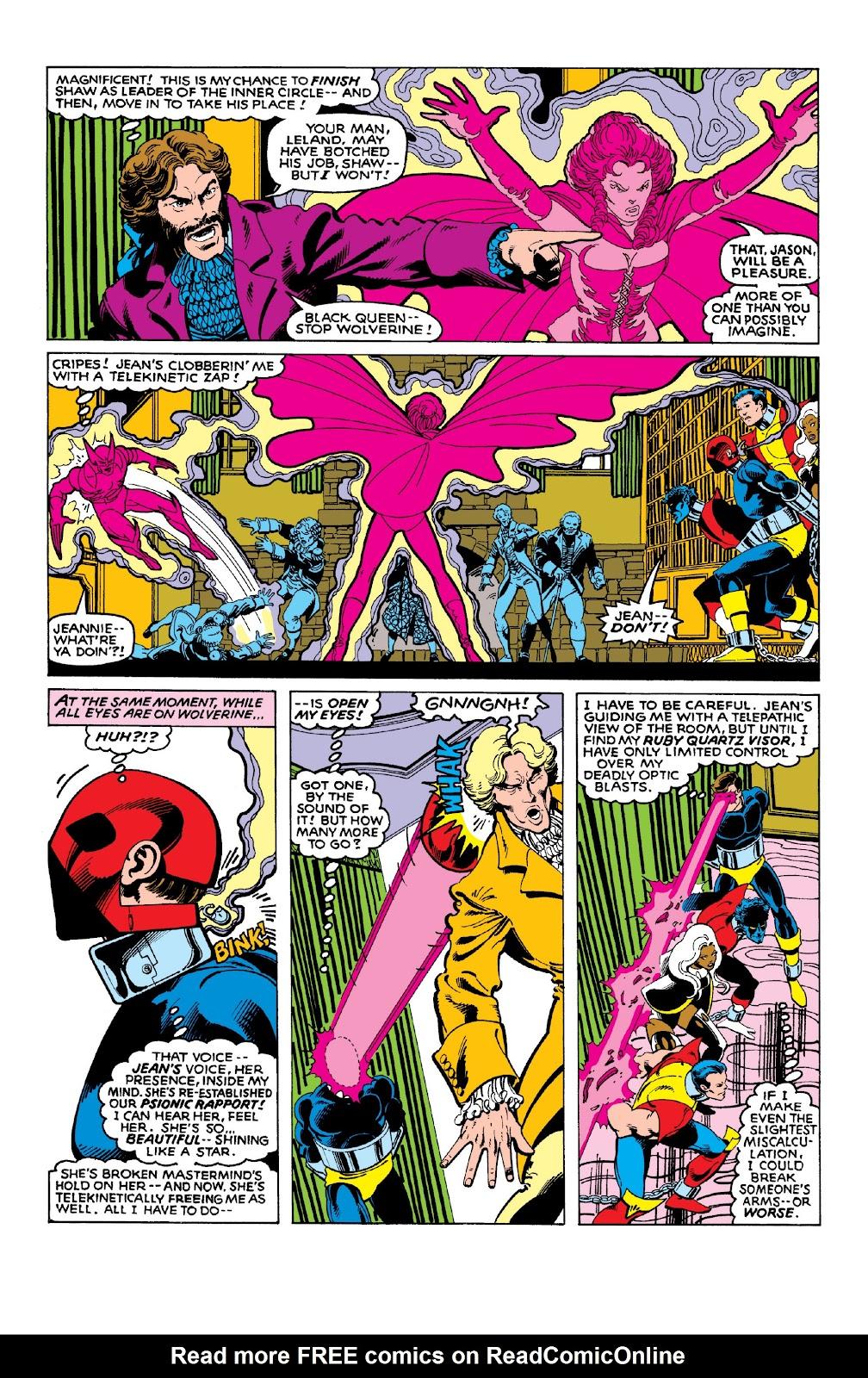 Read online X-Men Milestones: Dark Phoenix Saga comic -  Issue # TPB (Part 1) - 99