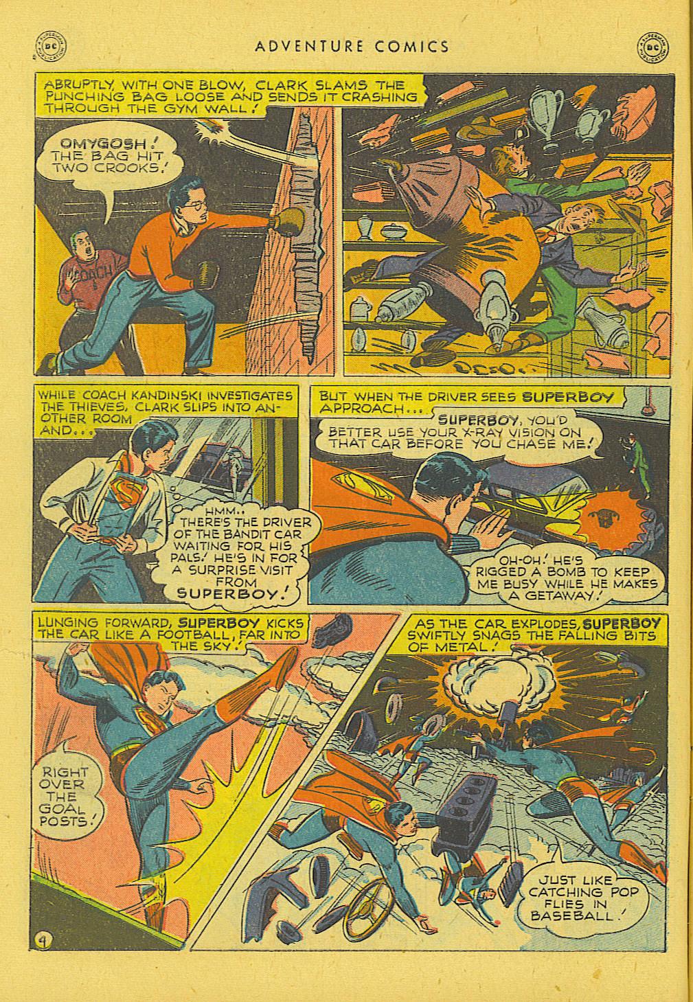 Read online Adventure Comics (1938) comic -  Issue #131 - 5