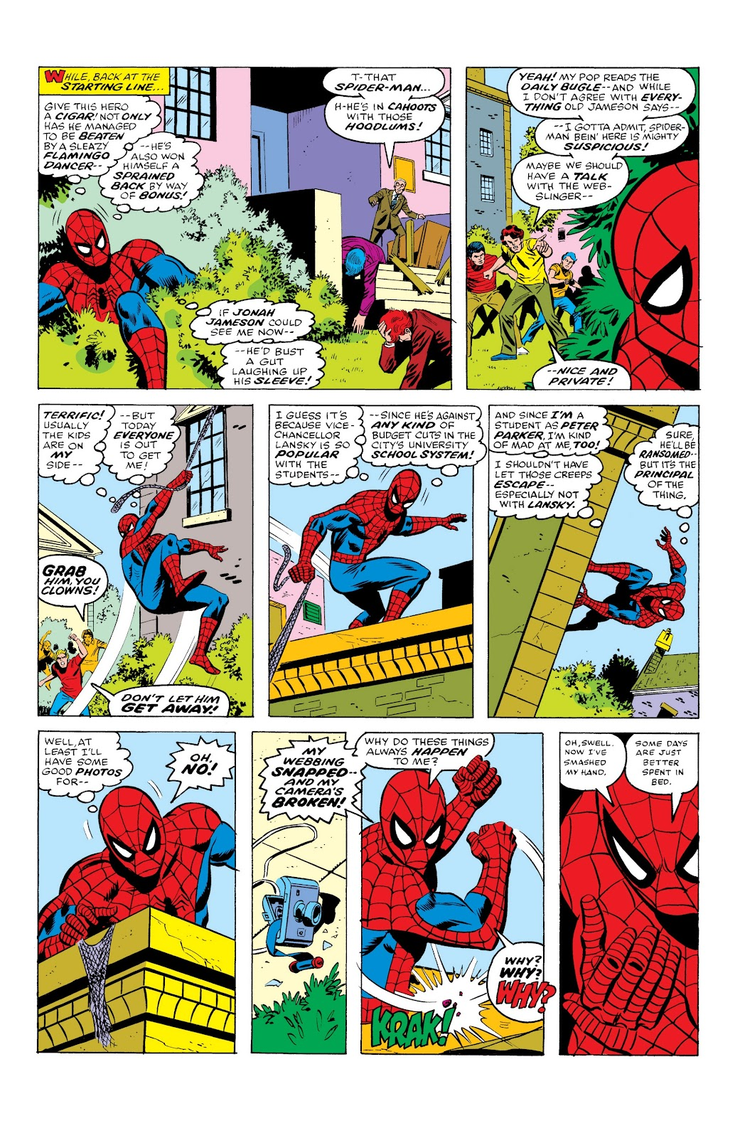 Read online Marvel Masterworks: The Spectacular Spider-Man comic -  Issue # TPB (Part 1) - 14