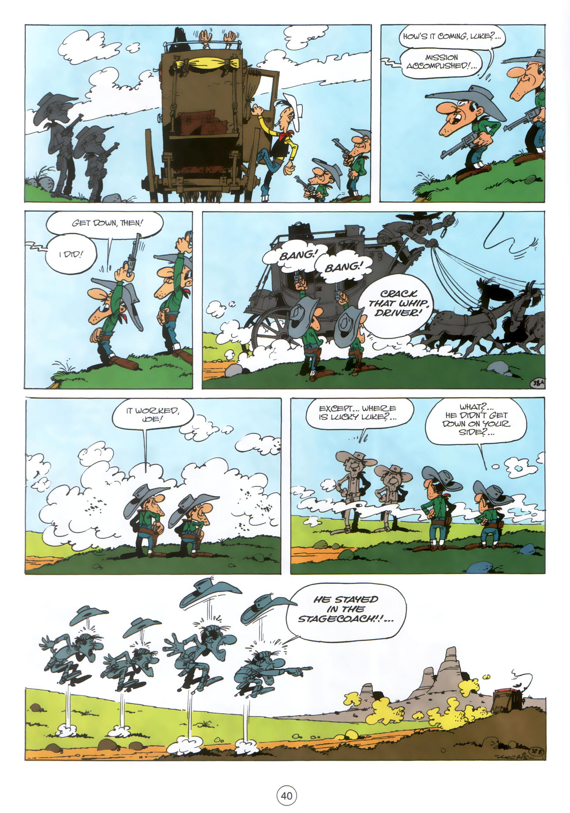 Read online A Lucky Luke Adventure comic -  Issue #30 - 39
