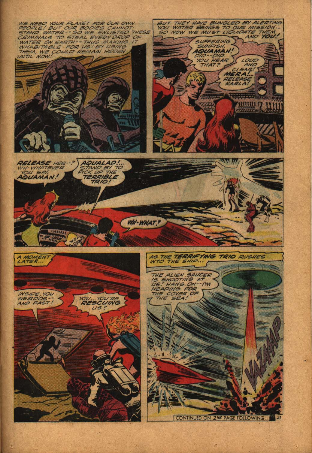 Read online Aquaman (1962) comic -  Issue #24 - 29